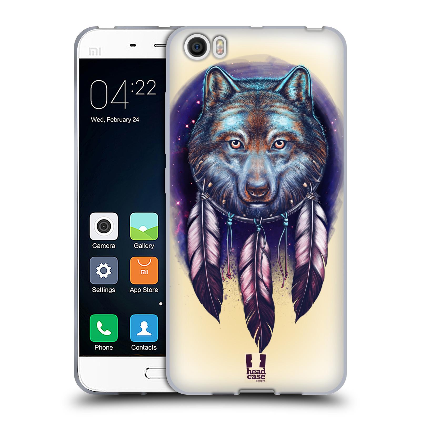 HEAD-CASE-DESIGNS-DREAMCATCHER-ANIMALS-SOFT-GEL-CASE-FOR-XIAOMI-PHONES