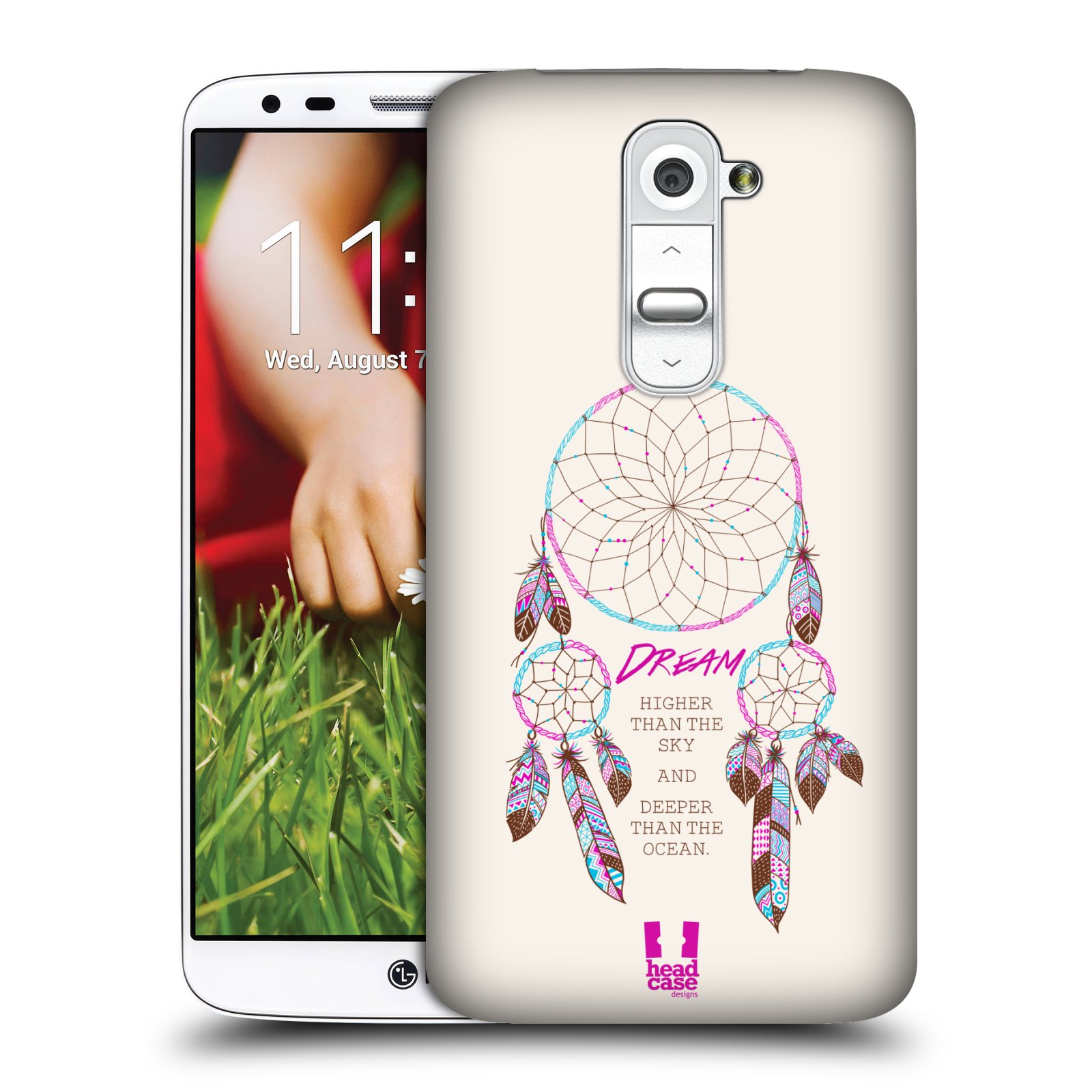 HEAD CASE DREAMCATCHERS SERIES 2 PROTECTIVE HARD BACK CASE COVER FOR LG G2 D802