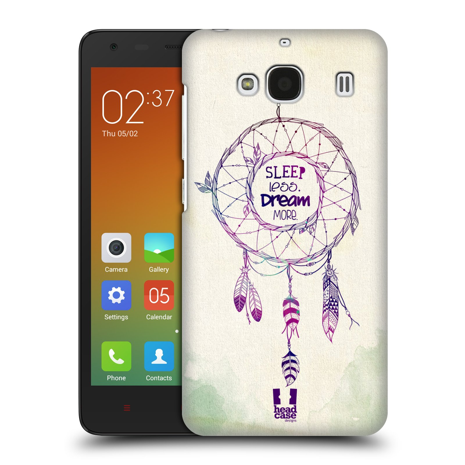 HEAD CASE DESIGNS DREAMCATCHERS SERIES 2 HARD BACK CASE FOR XIAOMI REDMI 2