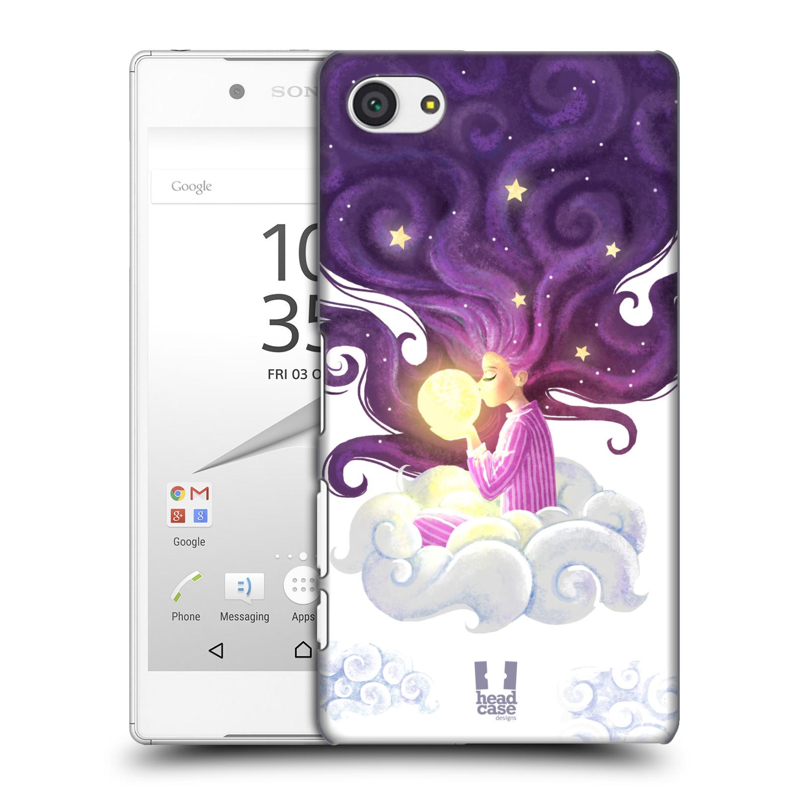 Pouzdro na mobil Sony Xperia Z5 COMPACT - HEAD CASE - polibek měsíce