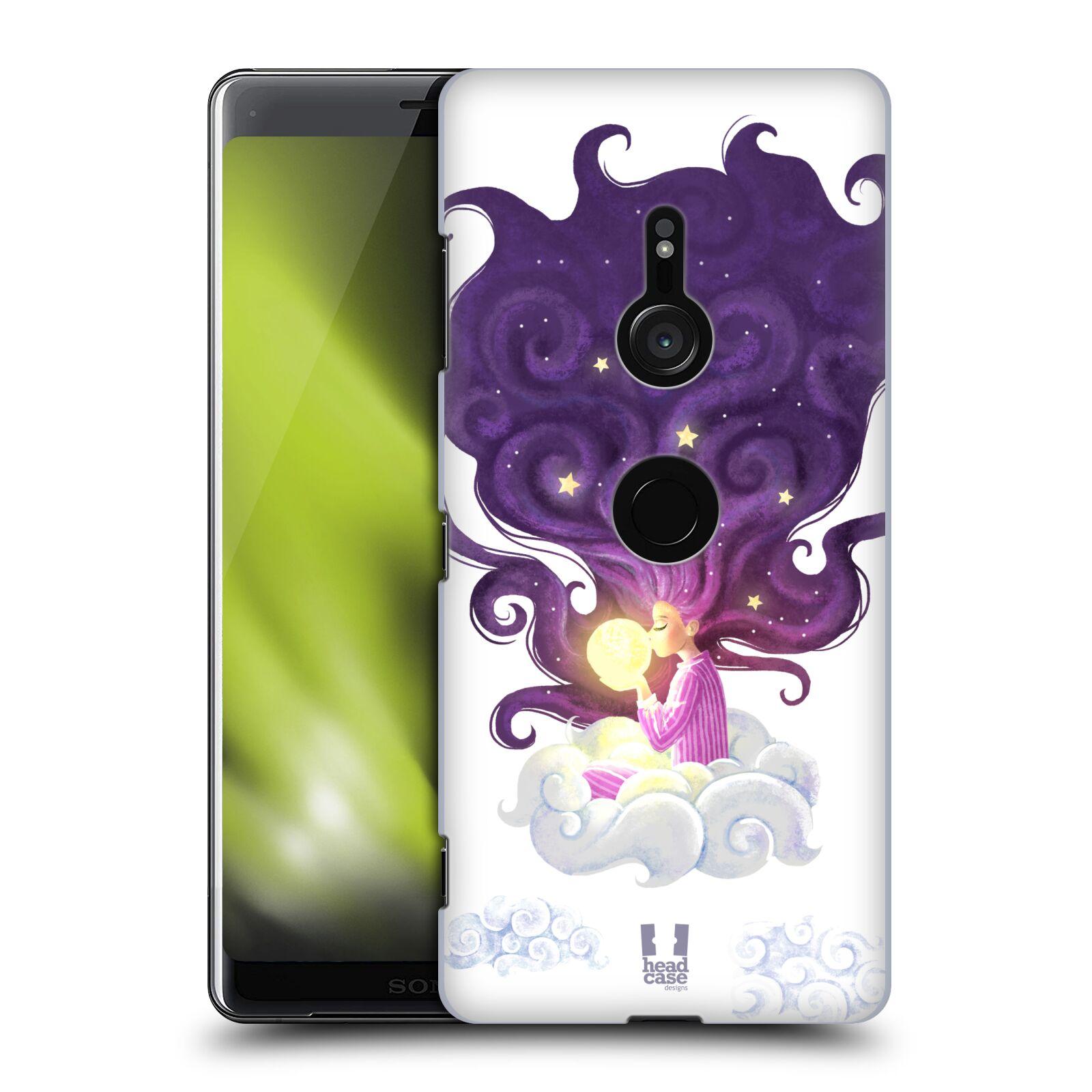 Pouzdro na mobil Sony Xperia XZ3 - HEAD CASE - polibek měsíce