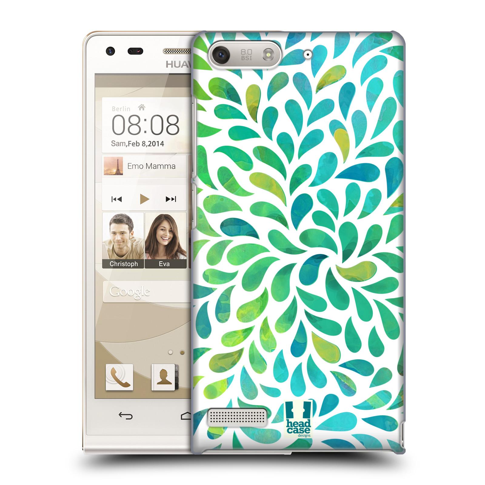 Plastové pouzdro na mobil Huawei Ascend G6 HEAD CASE Droplet Wave Kapičky (Kryt či obal na mobilní telefon Huawei Ascend G6 bez LTE)