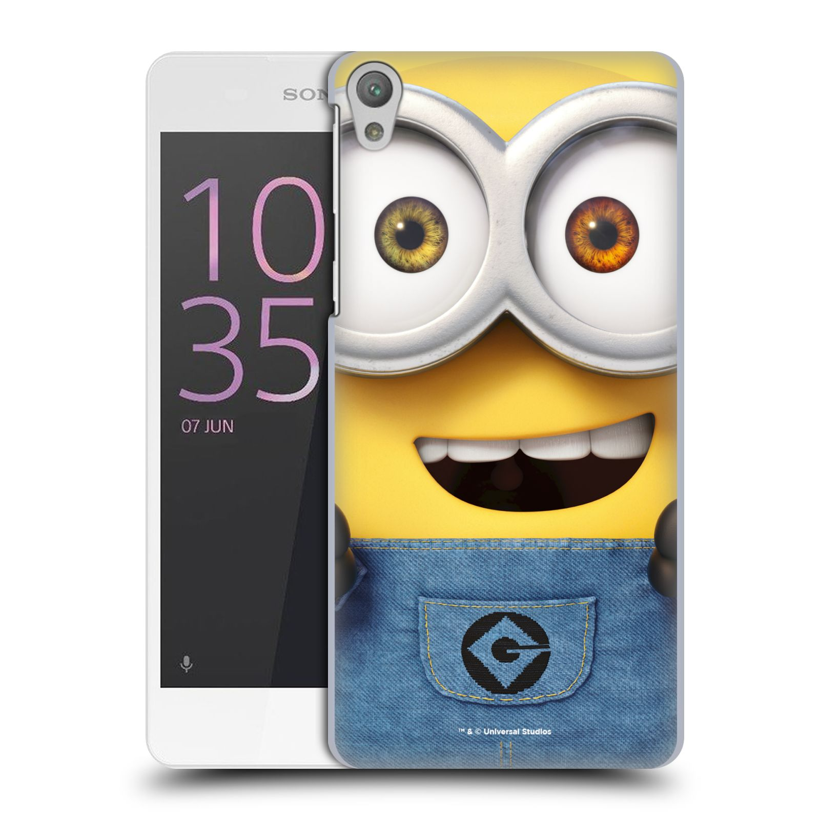 Pouzdro na mobil Sony Xperia E5 - HEAD CASE - Mimoni - Mimoň Bob
