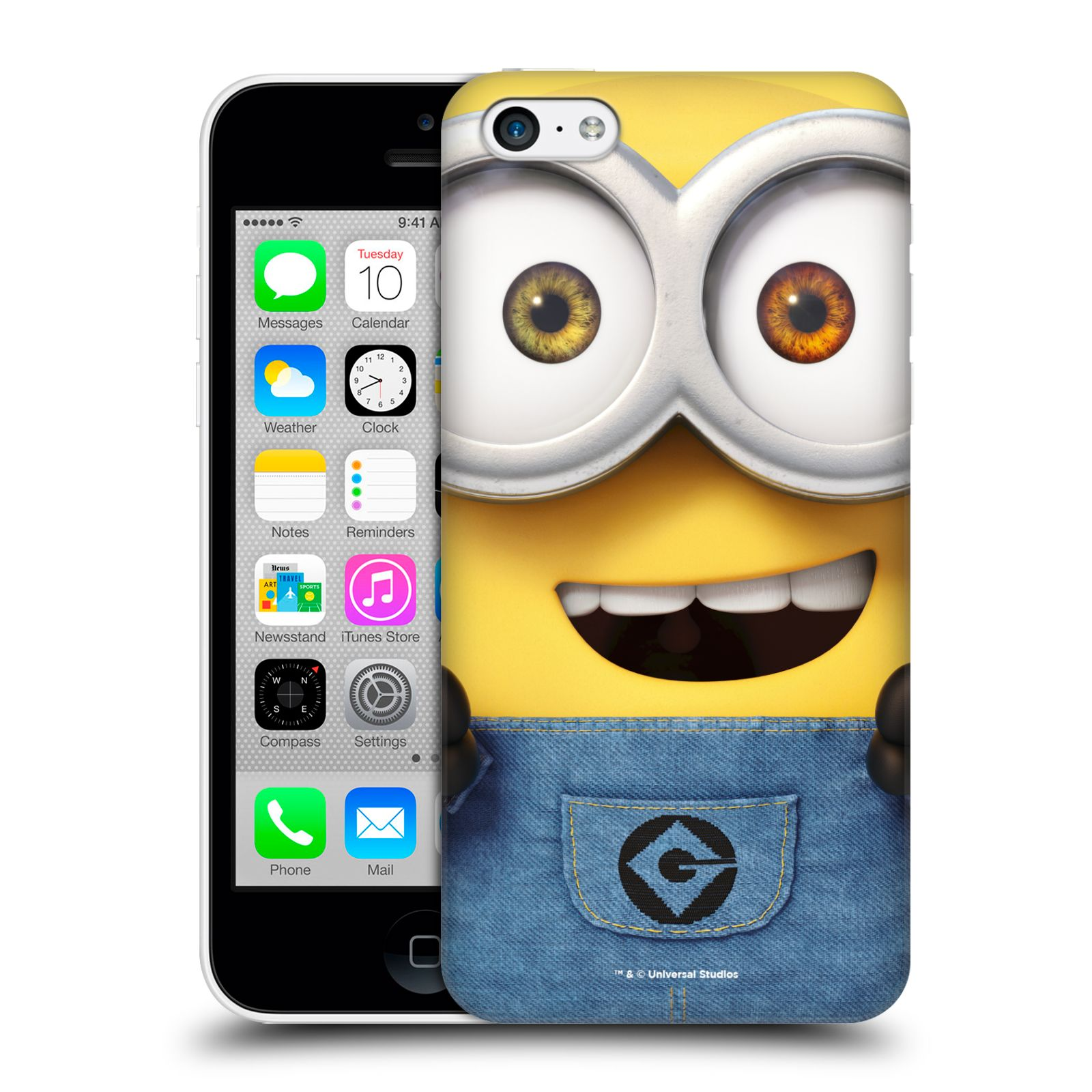 Pouzdro na mobil Apple Iphone 5C - HEAD CASE - Mimoni - Mimoň Bob
