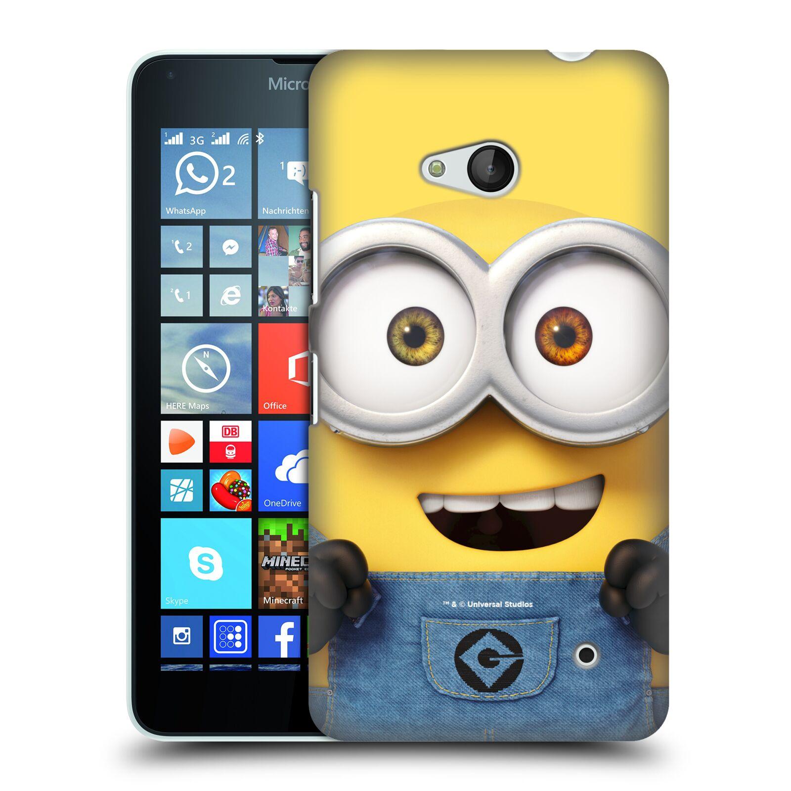 Pouzdro na mobil Microsoft Lumia 640 / 640 DUAL SIM - HEAD CASE - Mimoni - Mimoň Bob