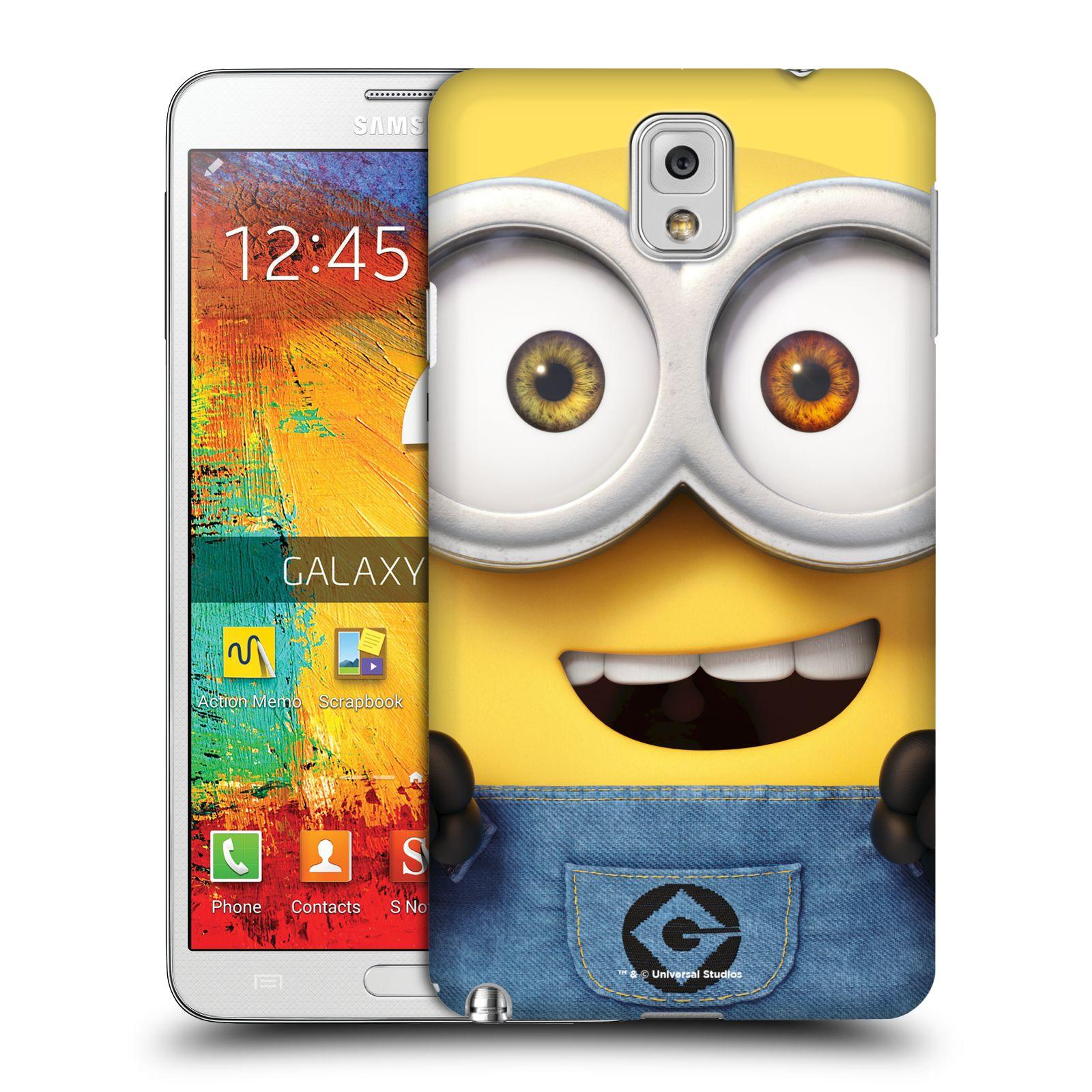 Pouzdro na mobil Samsung Galaxy Note 3 - HEAD CASE - Mimoni - Mimoň Bob