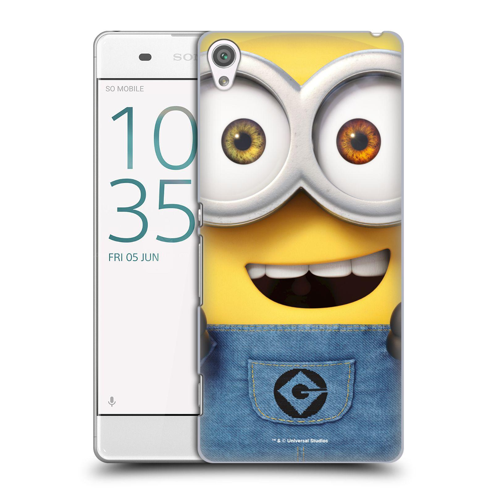 Pouzdro na mobil Sony Xperia XA - HEAD CASE - Mimoni - Mimoň Bob