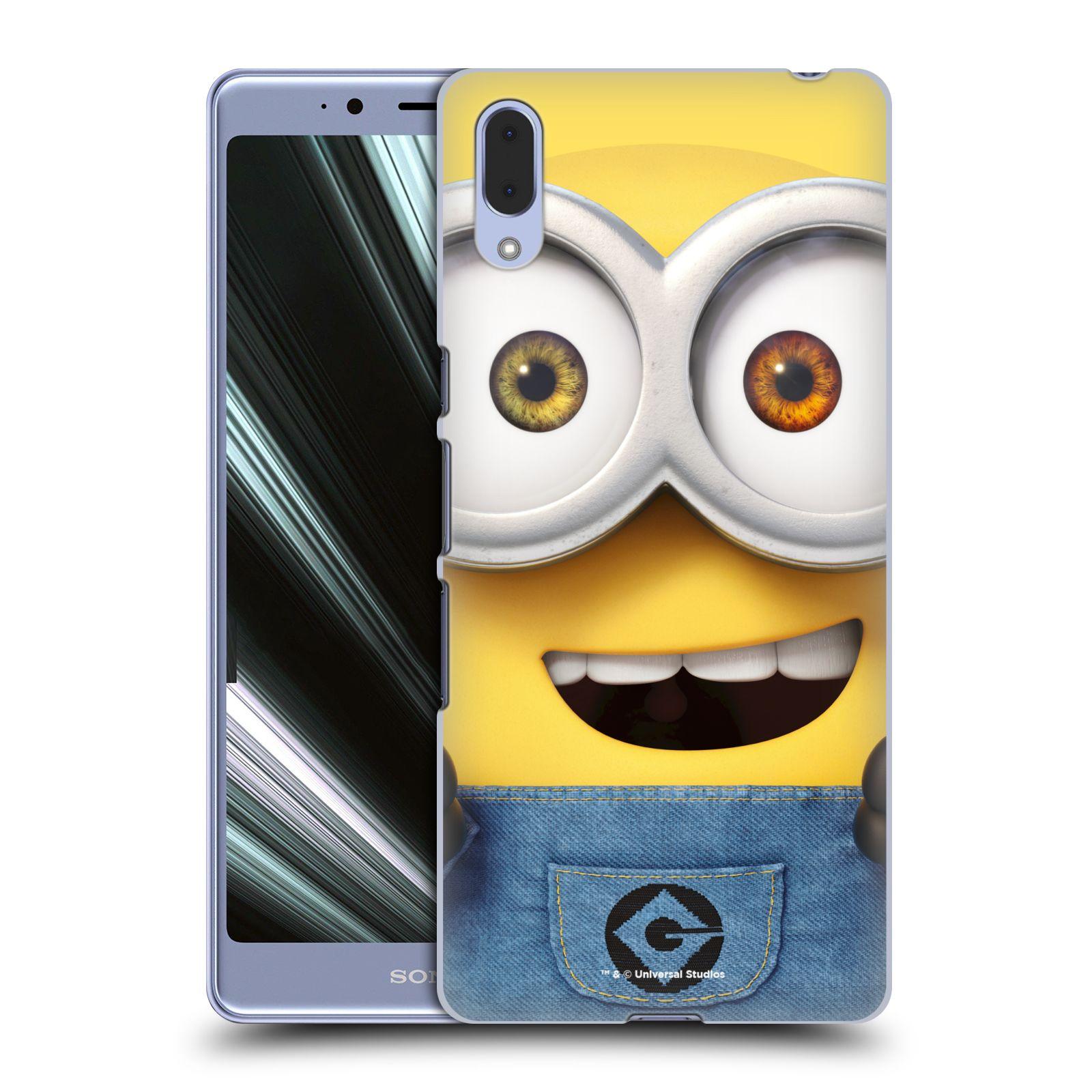 Pouzdro na mobil Sony Xperia L3 - HEAD CASE - Mimoni - Mimoň Bob
