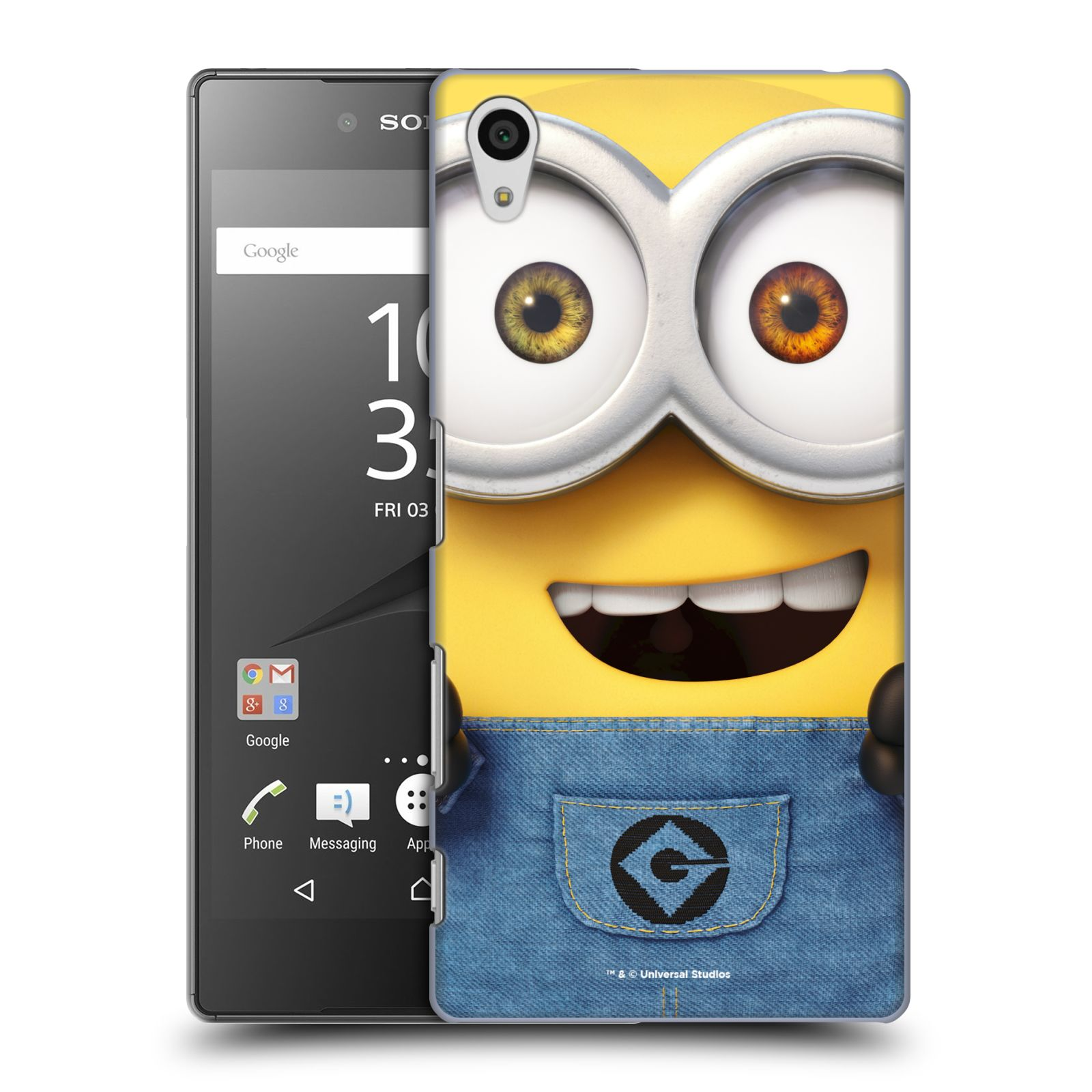 Pouzdro na mobil Sony Xperia Z5 - HEAD CASE - Mimoni - Mimoň Bob