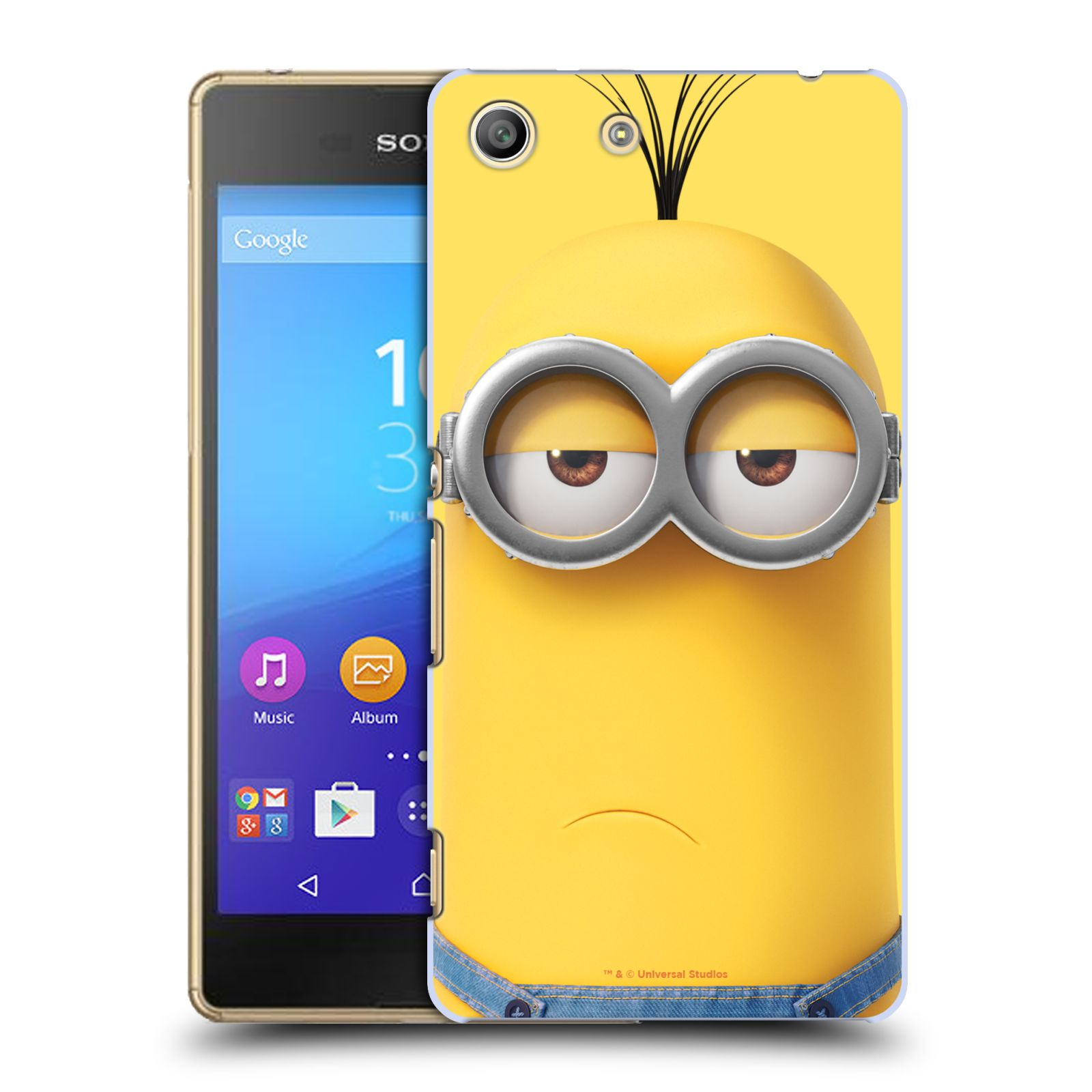 Pouzdro na mobil Sony Xperia M5 - HEAD CASE - Mimoni - Mimoň Kevin