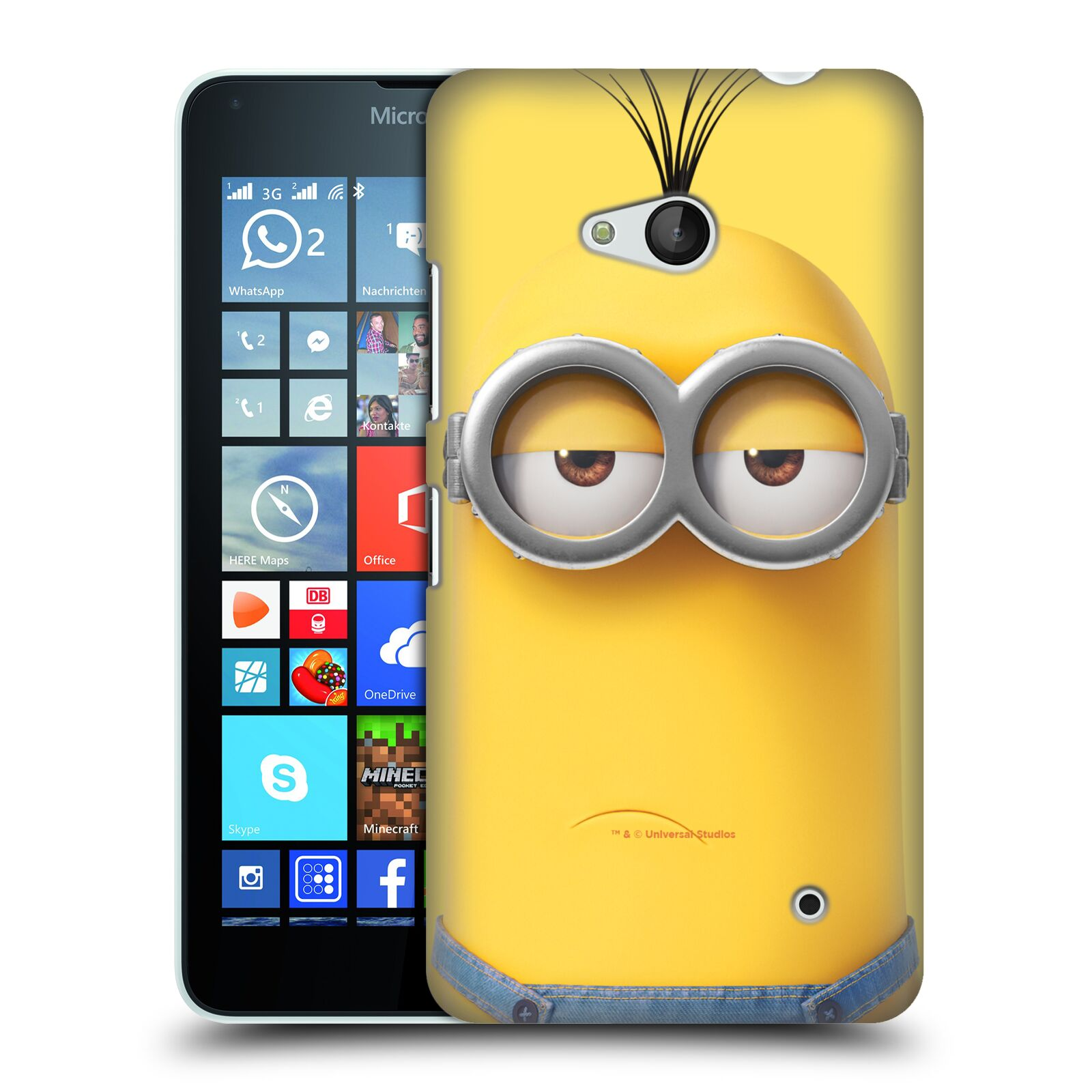 Pouzdro na mobil Microsoft Lumia 640 / 640 DUAL SIM - HEAD CASE - Mimoni - Mimoň Kevin