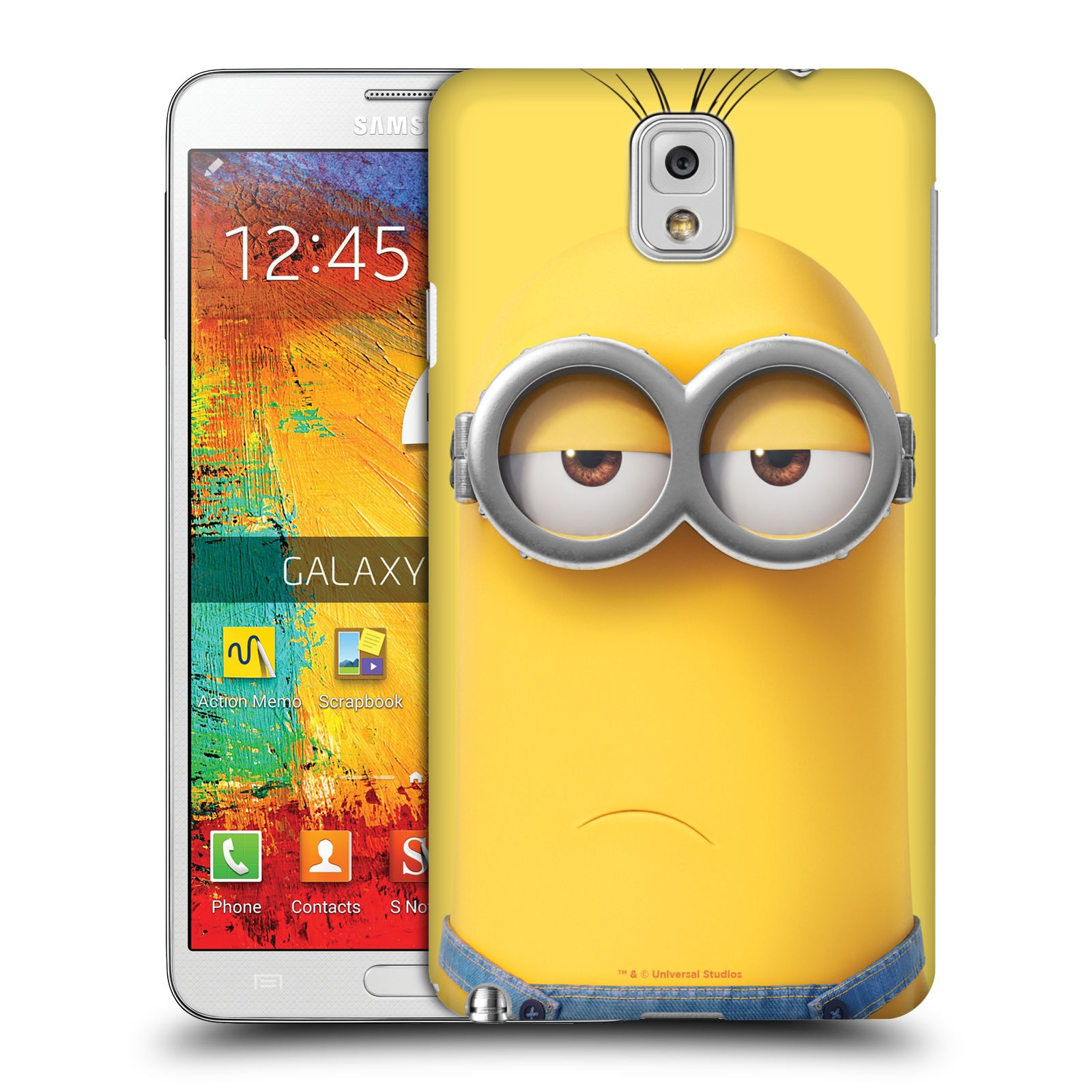 Pouzdro na mobil Samsung Galaxy Note 3 - HEAD CASE - Mimoni - Mimoň Kevin