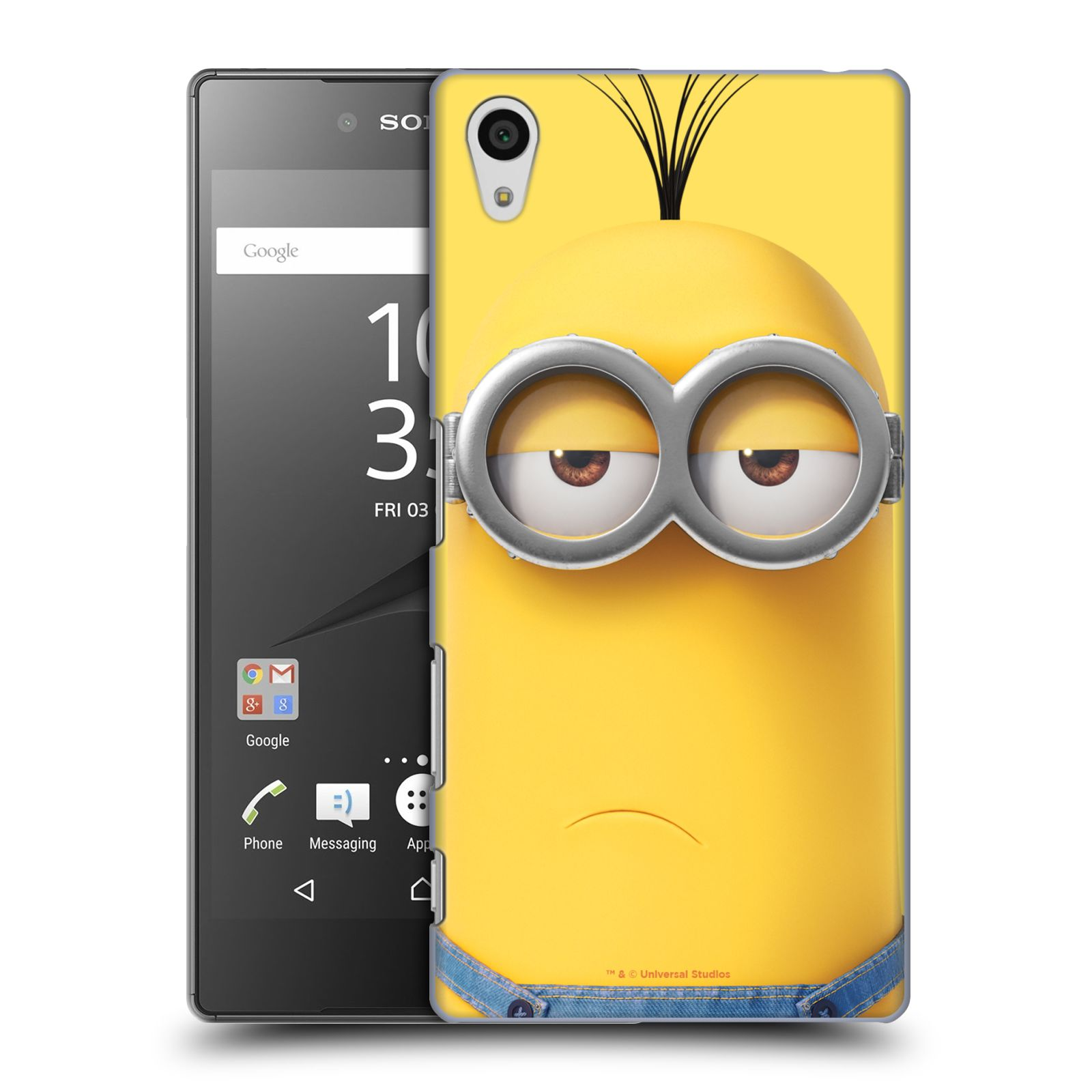 Pouzdro na mobil Sony Xperia Z5 - HEAD CASE - Mimoni - Mimoň Kevin