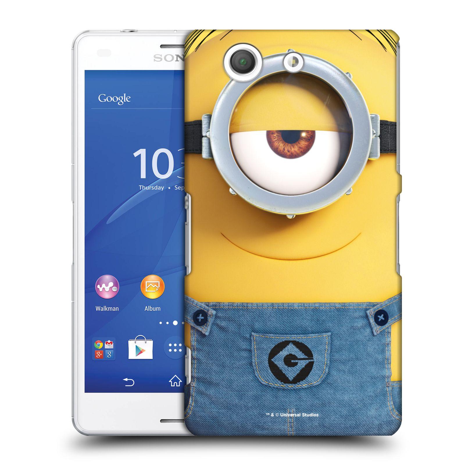 Pouzdro na mobil Sony Xperia Z3 COMPACT - HEAD CASE - Mimoni - Mimoň Stuart
