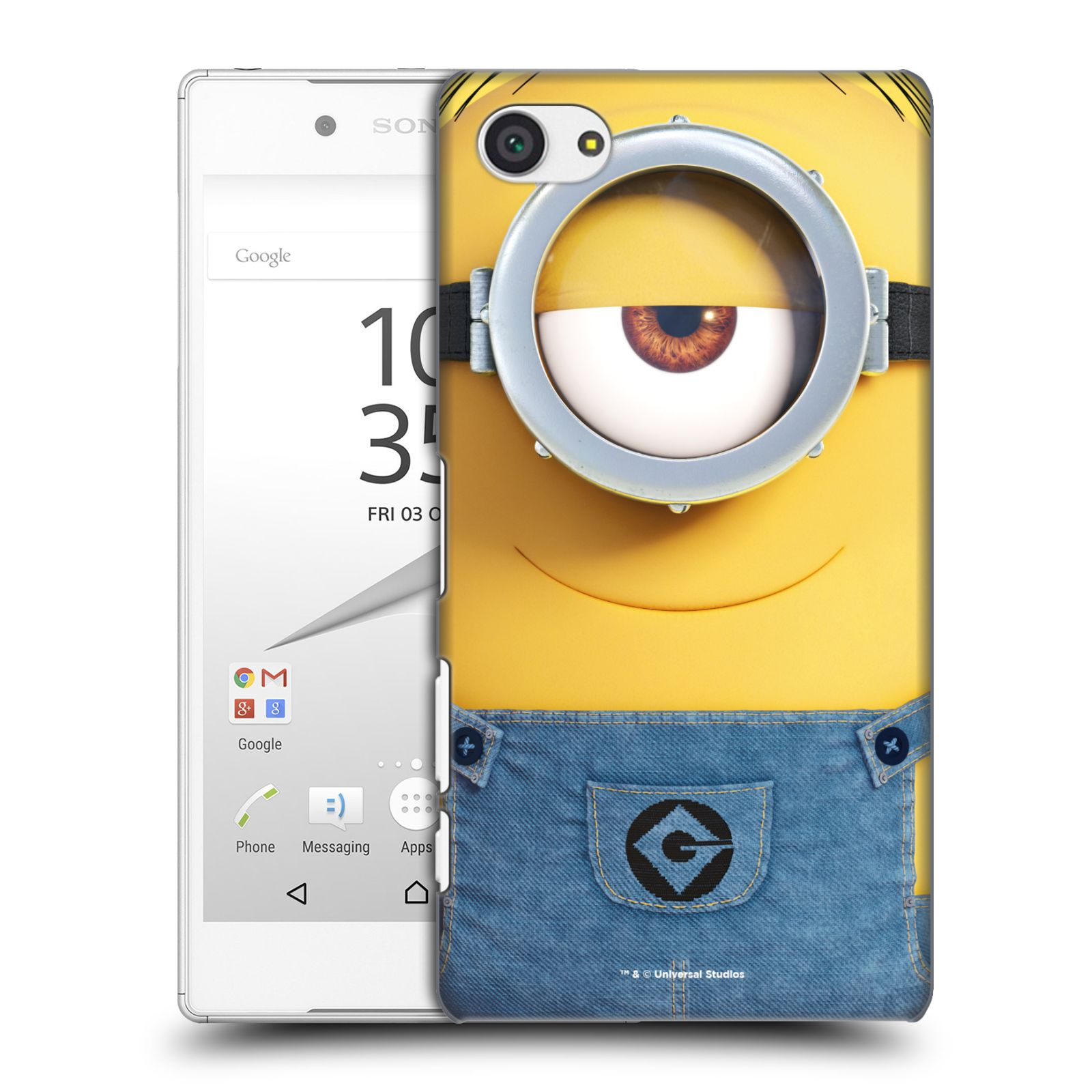 Pouzdro na mobil Sony Xperia Z5 COMPACT - HEAD CASE - Mimoni - Mimoň Stuart