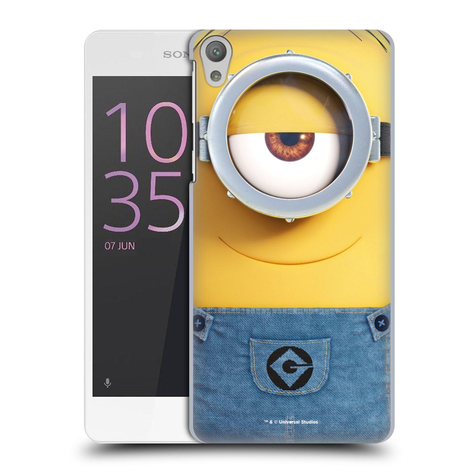 Pouzdro na mobil Sony Xperia E5 - HEAD CASE - Mimoni - Mimoň Stuart