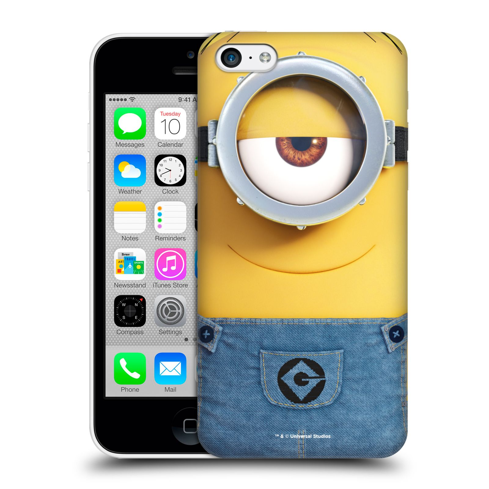 Pouzdro na mobil Apple Iphone 5C - HEAD CASE - Mimoni - Mimoň Stuart