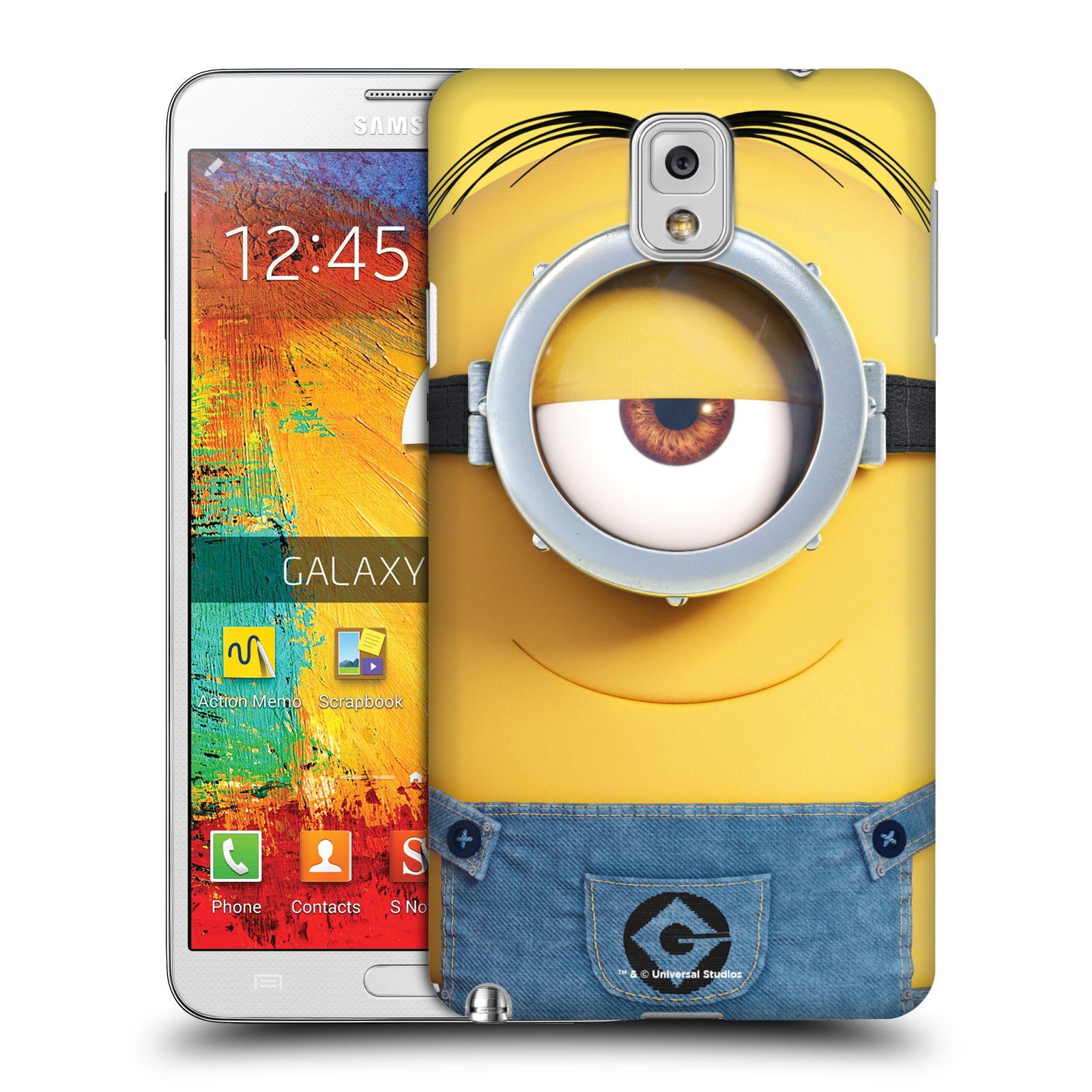 Pouzdro na mobil Samsung Galaxy Note 3 - HEAD CASE - Mimoni - Mimoň Stuart