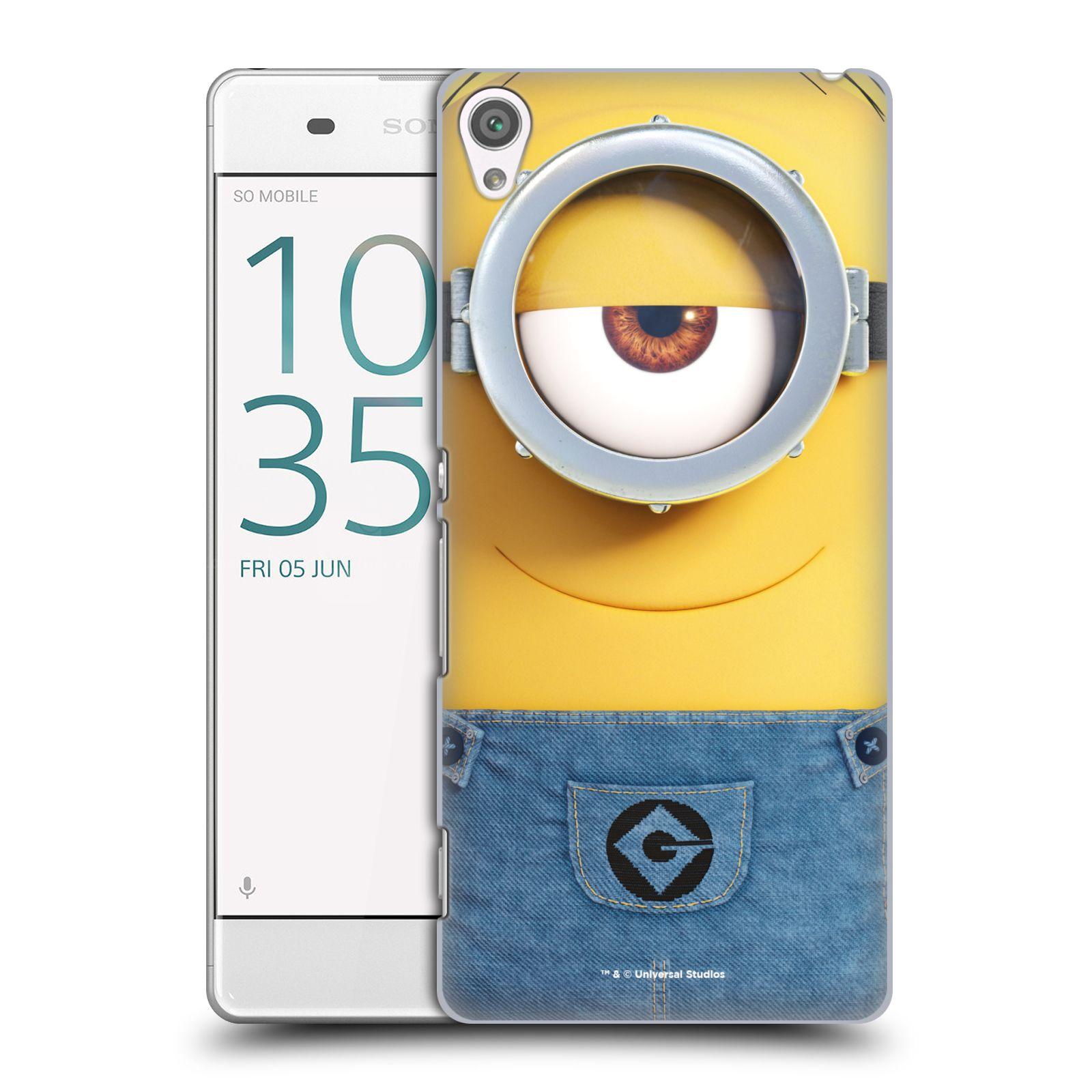 Pouzdro na mobil Sony Xperia XA - HEAD CASE - Mimoni - Mimoň Stuart