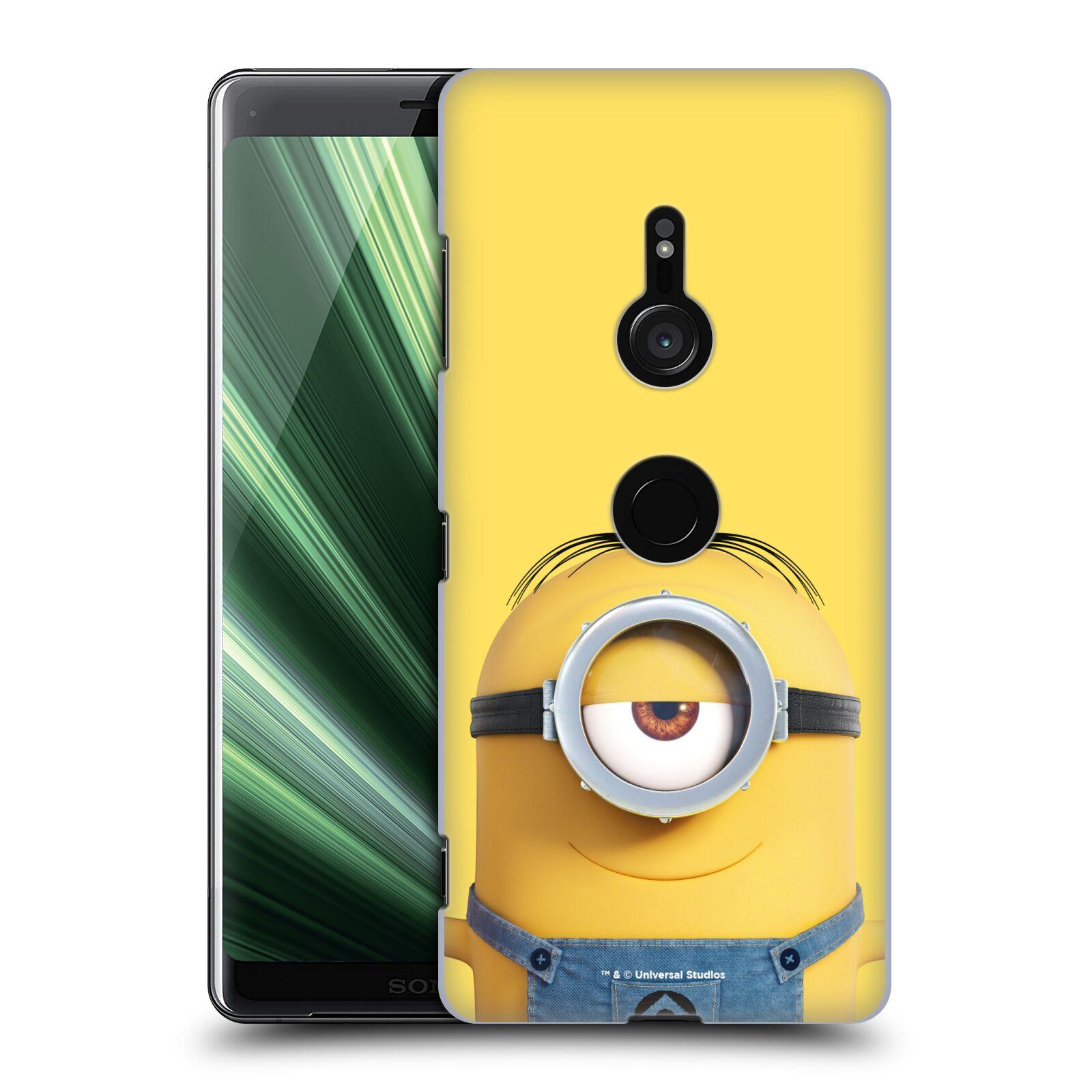 Pouzdro na mobil Sony Xperia XZ3 - HEAD CASE - Mimoni - Mimoň Stuart