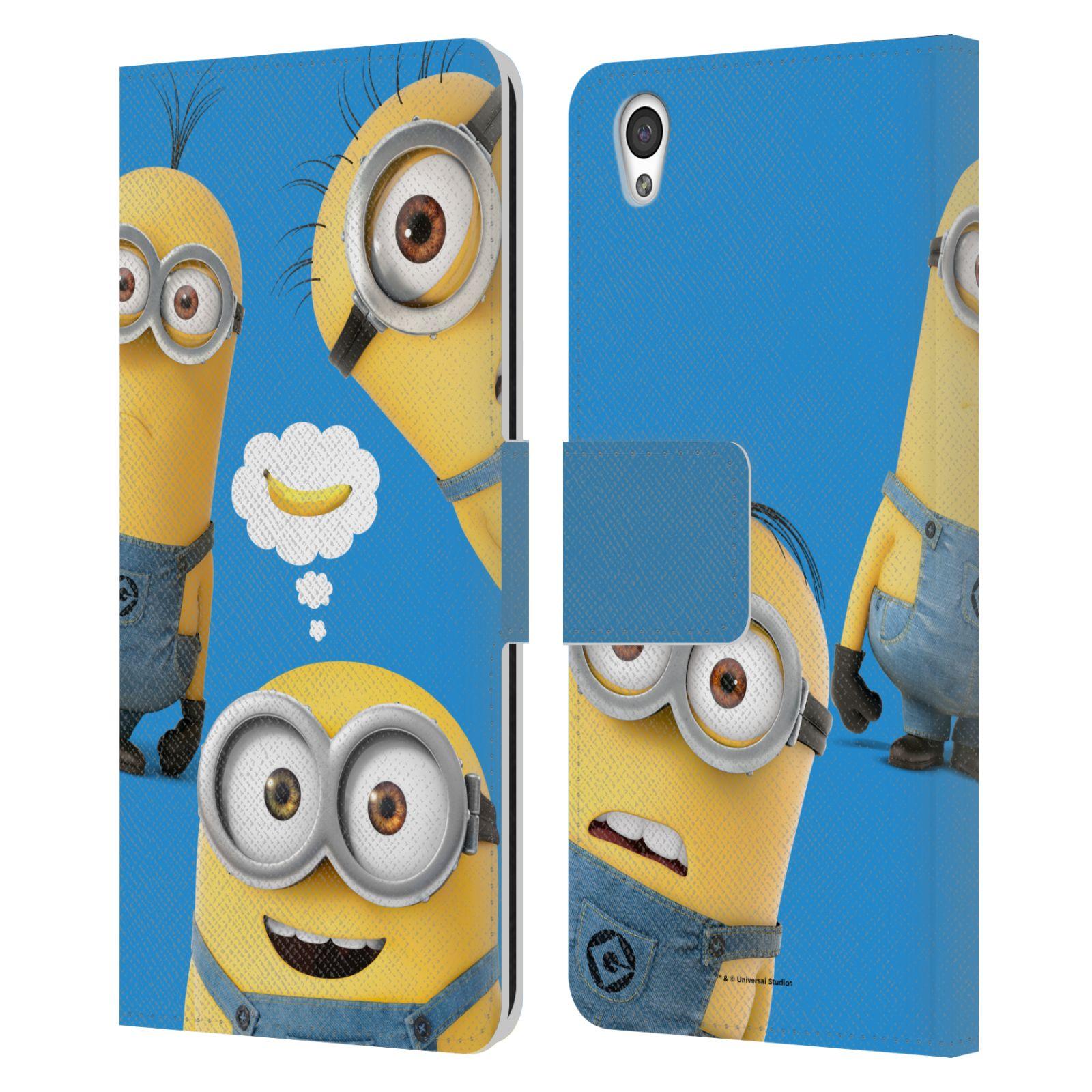 Pouzdro na mobil OnePlus X - Head Case - Mimoni - Tři mimoni a banán