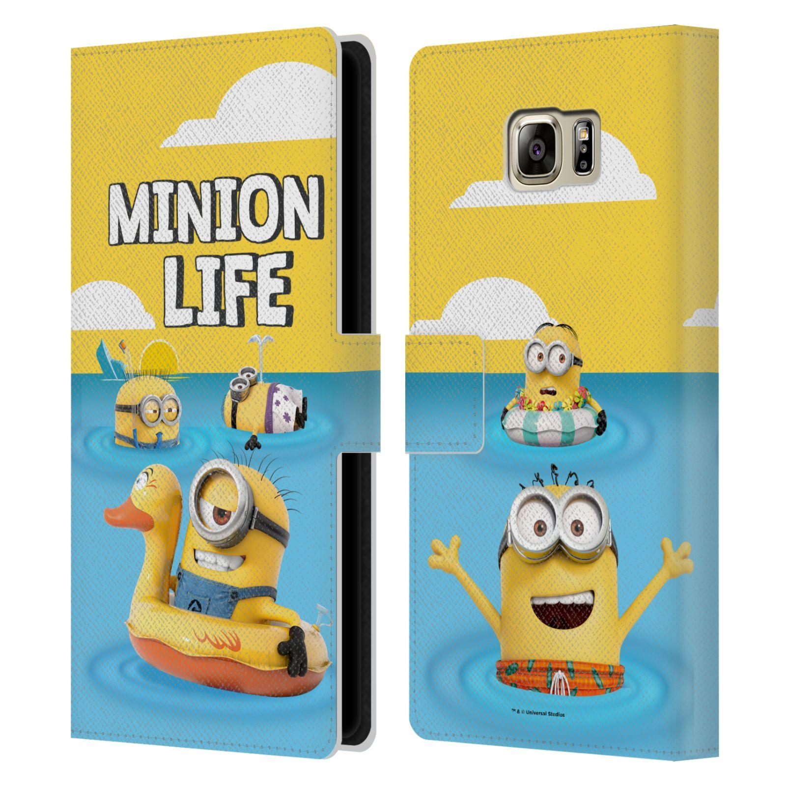 Pouzdro na mobil Samsung Galaxy NOTE 5 - Head Case - Mimoni - mimoni v moři