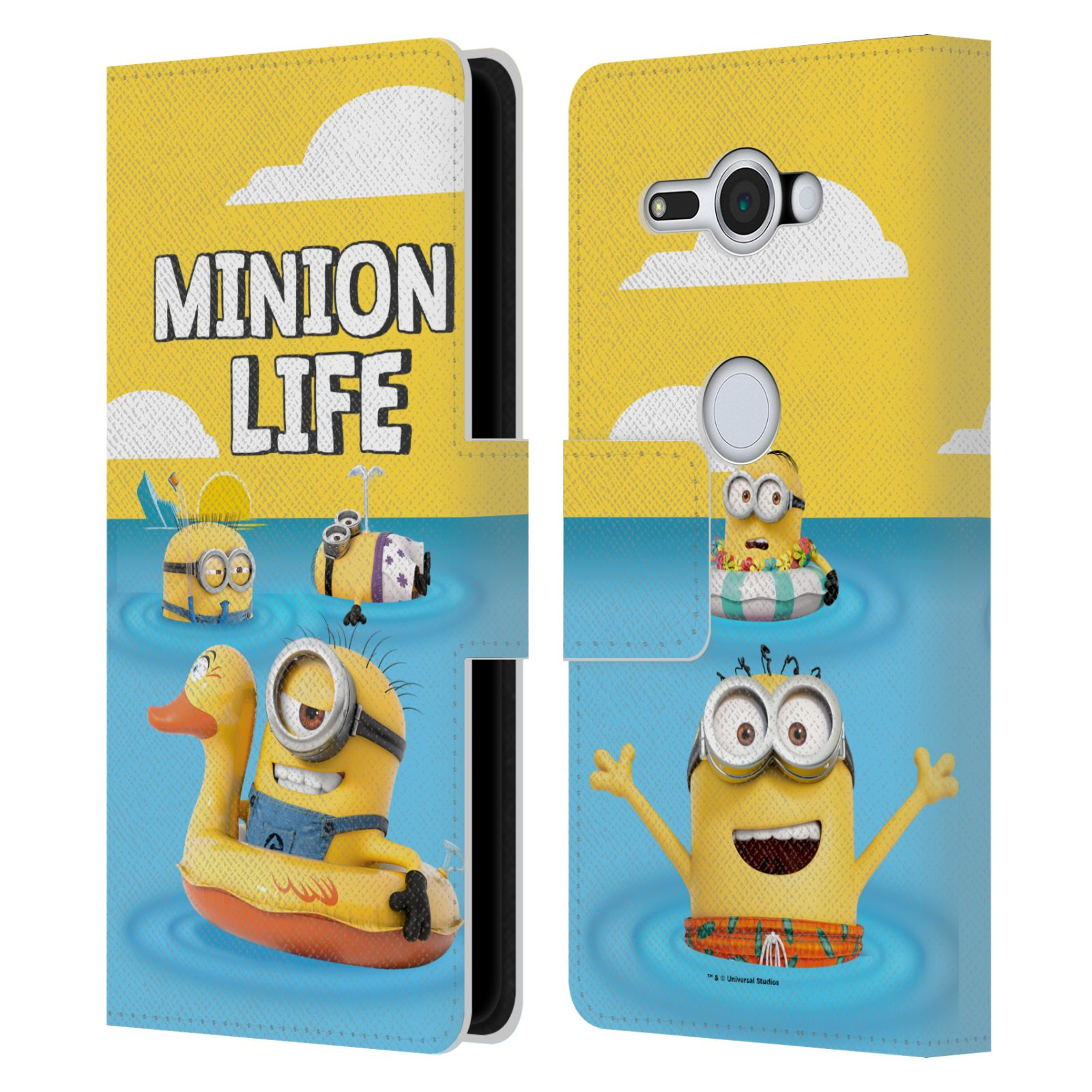 Pouzdro na mobil Sony Xperia XZ2 Compact - Head Case - Mimoni - mimoni v moři
