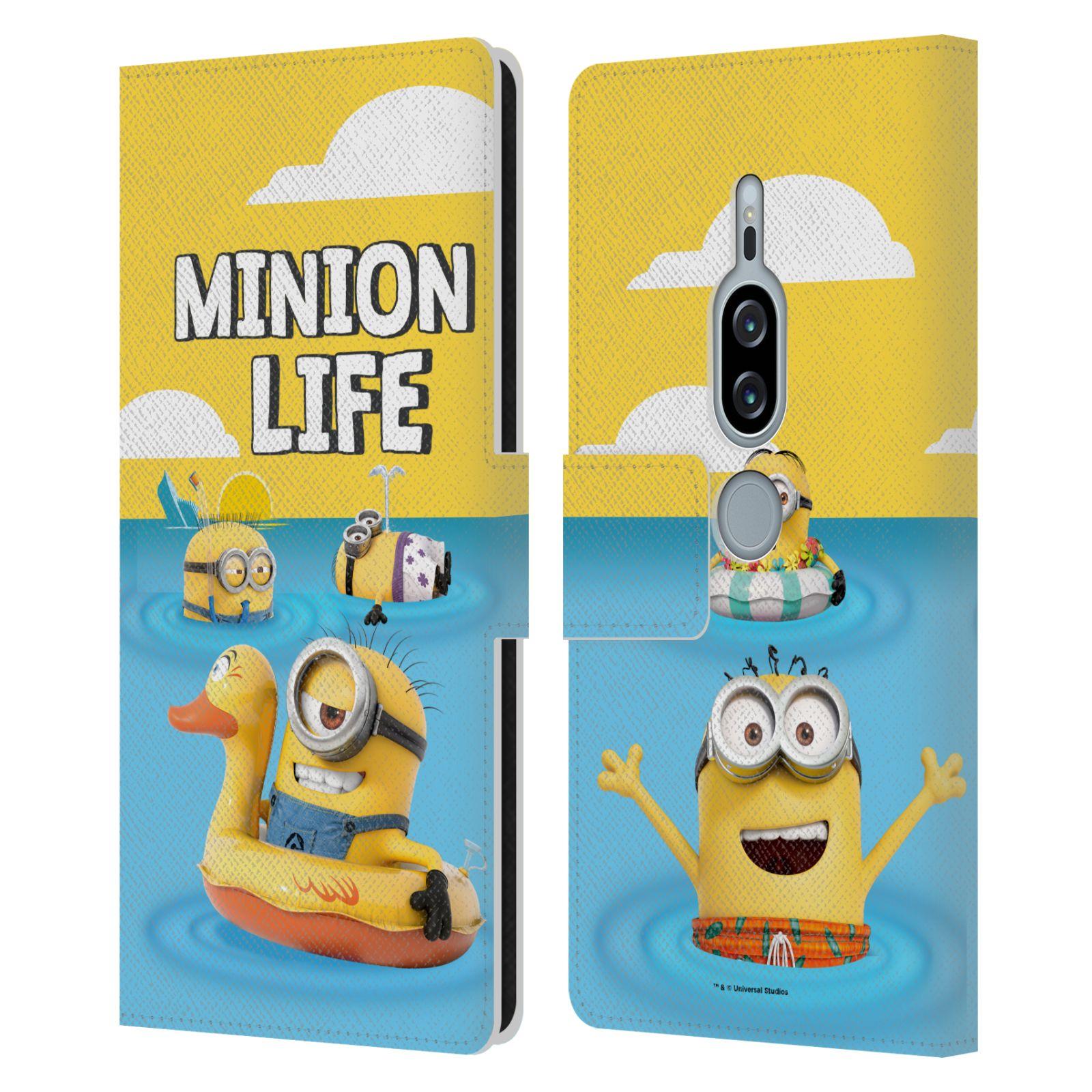 Pouzdro na mobil Sony Xperia XZ2 Premium - Head Case - Mimoni - mimoni v moři