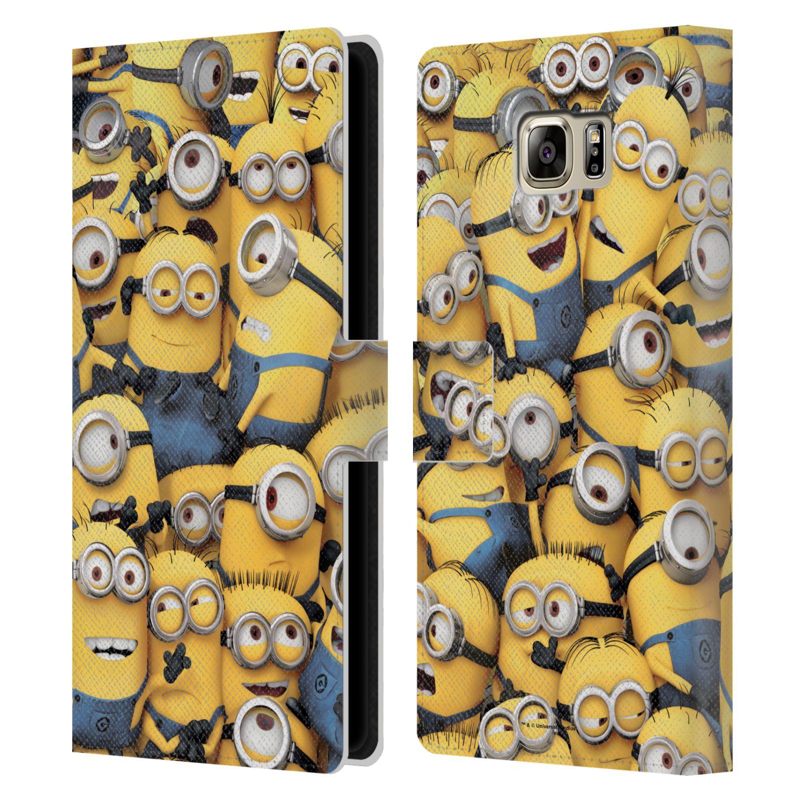 Pouzdro na mobil Samsung Galaxy NOTE 5 - Head Case - Mimoni - hromada mimoňů