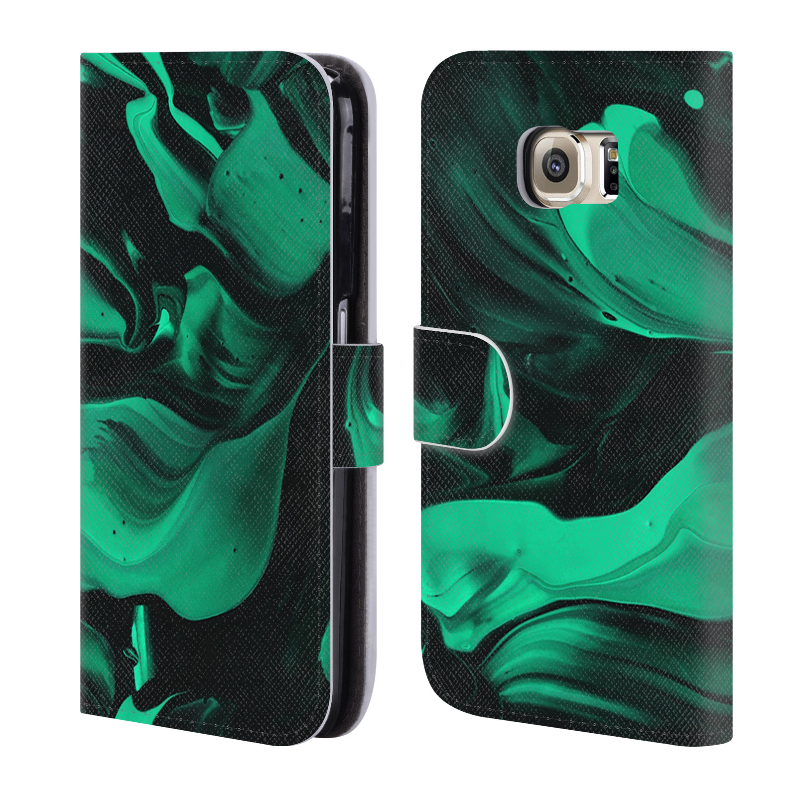 OFFICIAL-DJUNO-TOMSNI-ABSTRACT-2-LEATHER-BOOK-WALLET-CASE-FOR-SAMSUNG-PHONES-1