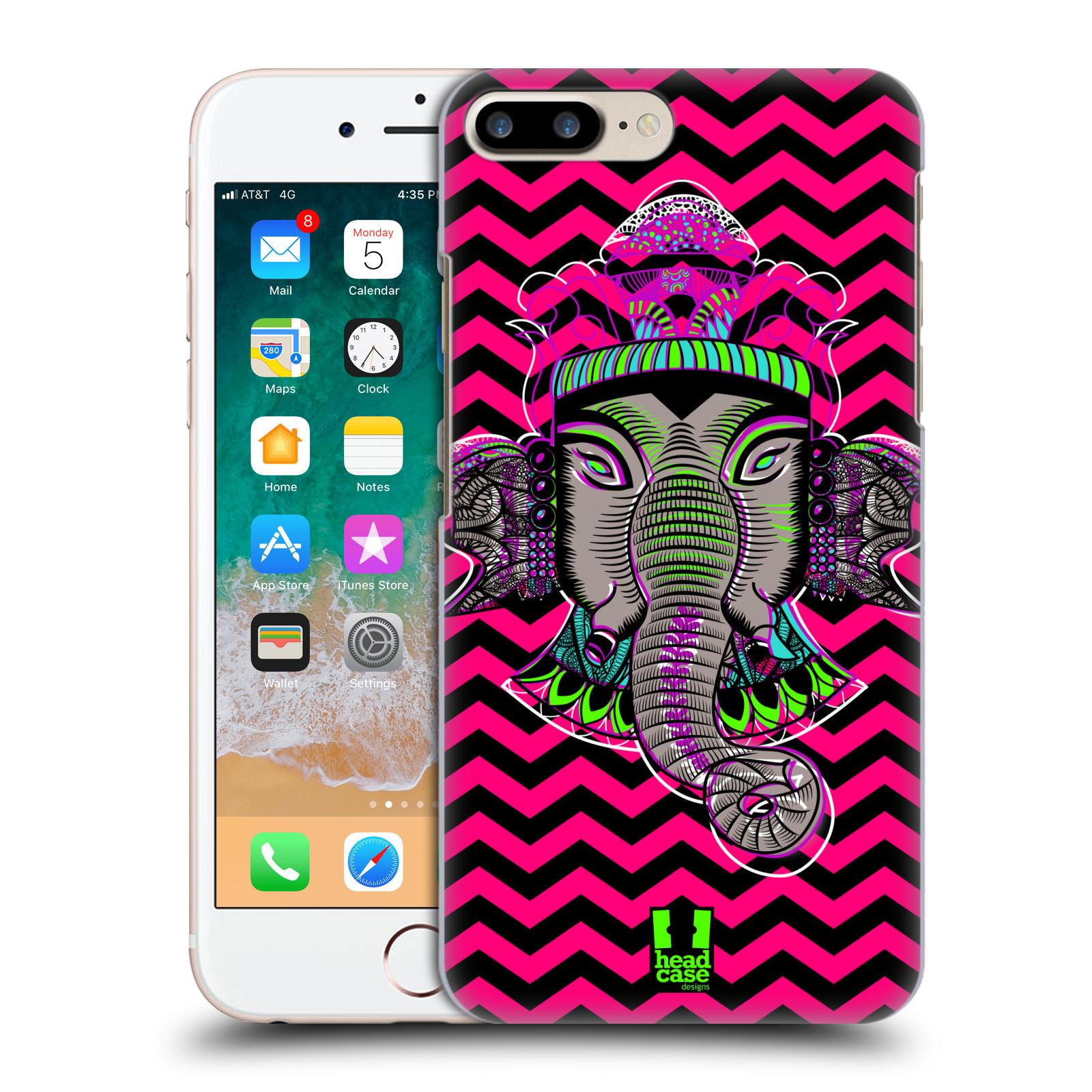 HEAD CASE plastový obal na mobil Apple Iphone 7 PLUS vzor Indie slon chevron
