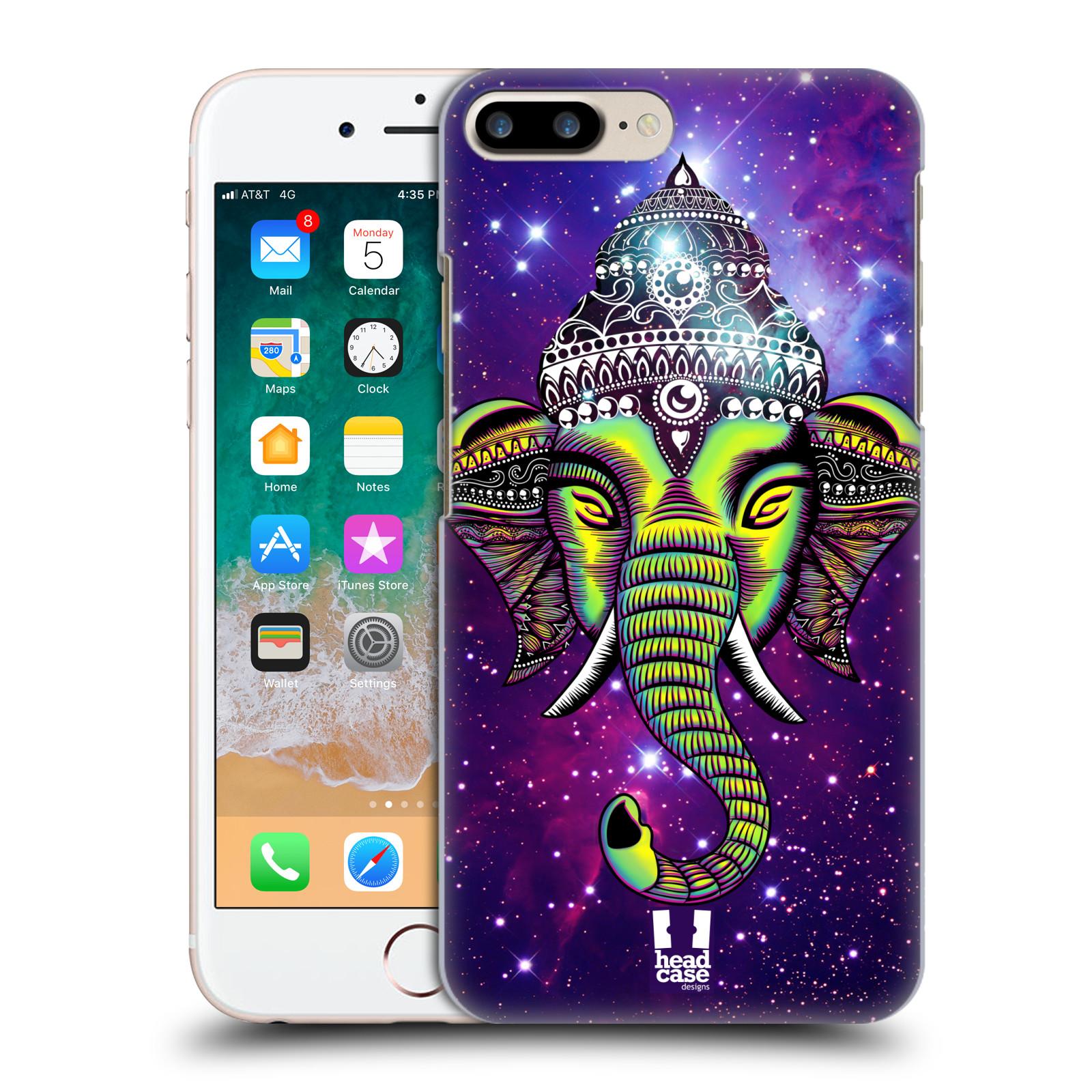 HEAD CASE plastový obal na mobil Apple Iphone 7 PLUS vzor Indie slon mlhovina