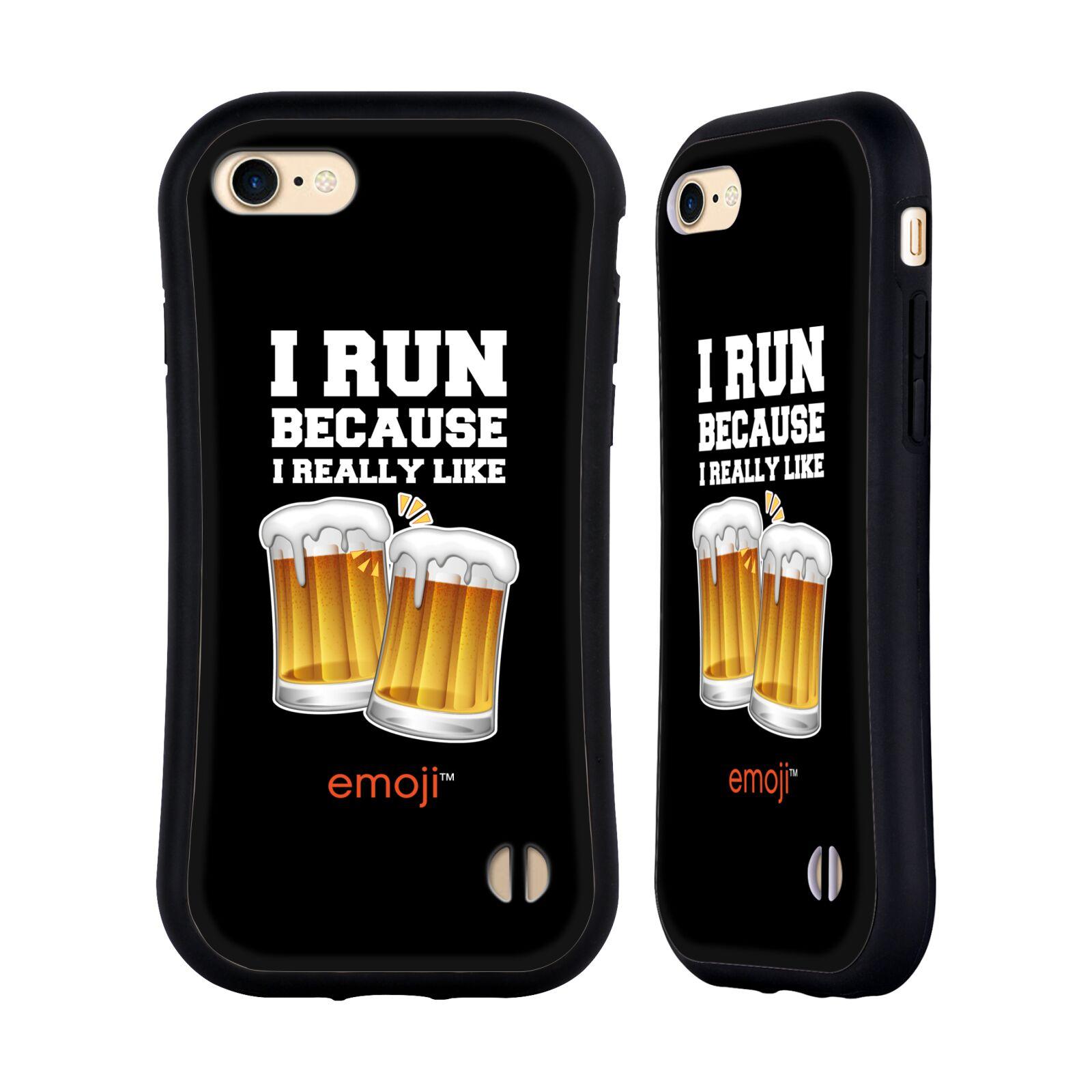 HEAD CASE odolný obal na mobil Apple Iphone 8 smajlíci oficiální kryt EMOJI vzor sklenice piva