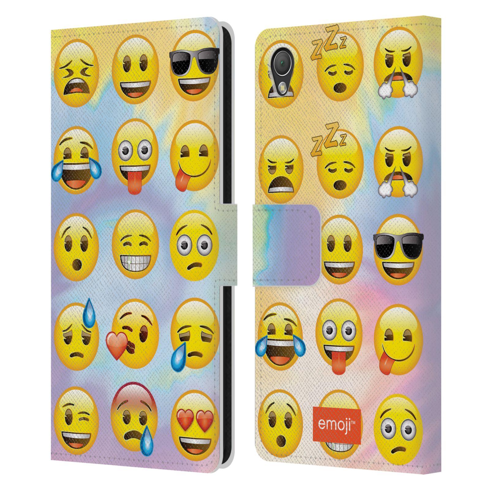 Diy Emoji Book Cover : Official emoji smileys leather book wallet case cover for