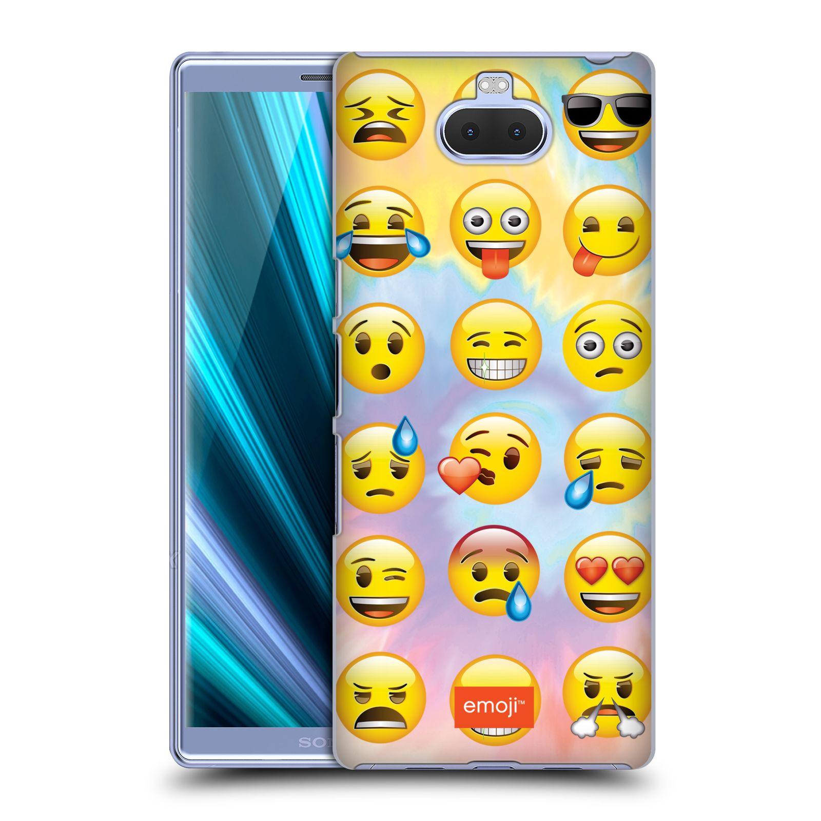 Pouzdro na mobil Sony Xperia 10 Plus - Head Case - smajlík oficiální kryt EMOJI nálada