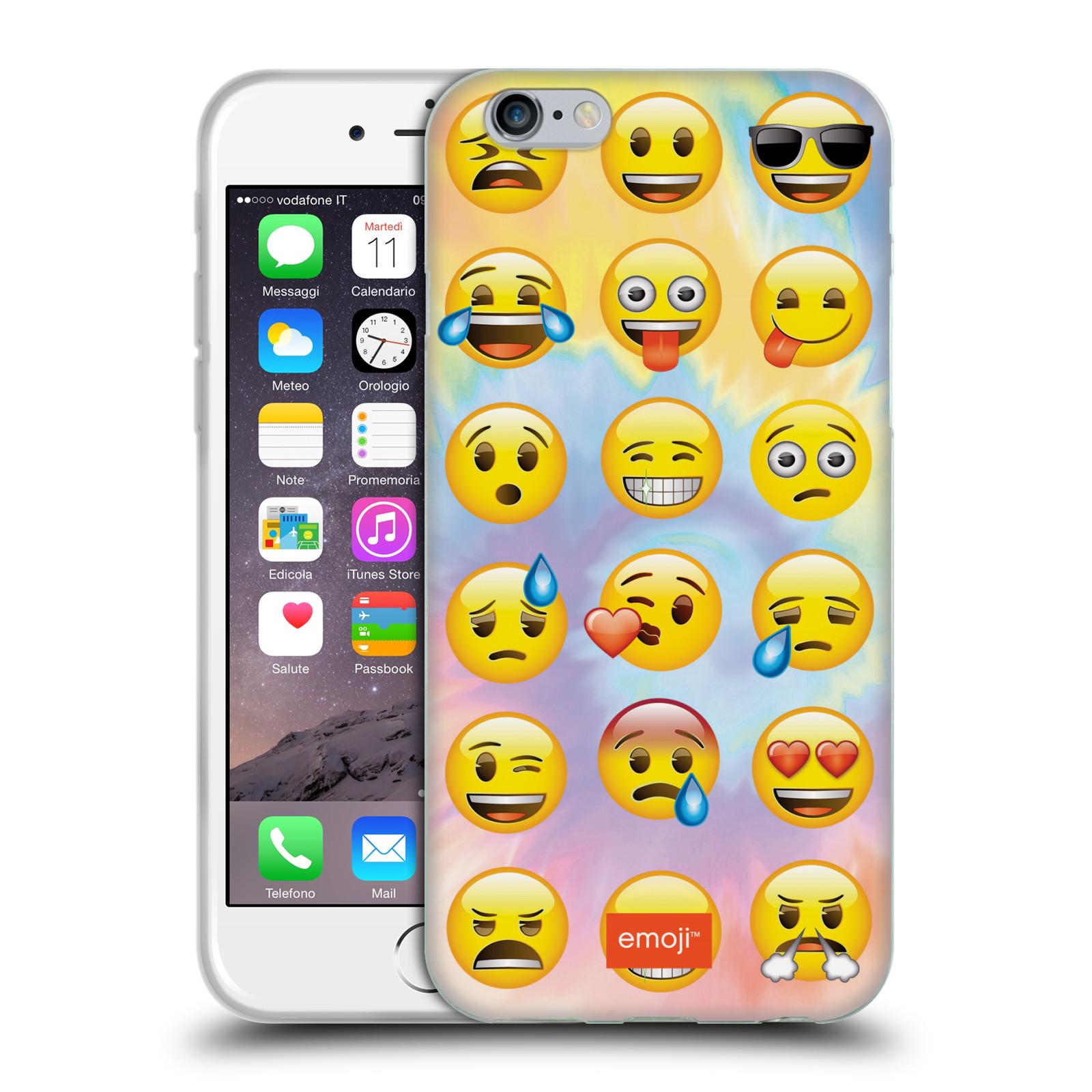 HEAD CASE silikonový obal na mobil Apple Iphone 6 6S smajlík oficiální kryt  EMOJI nálada e7db5d209d7