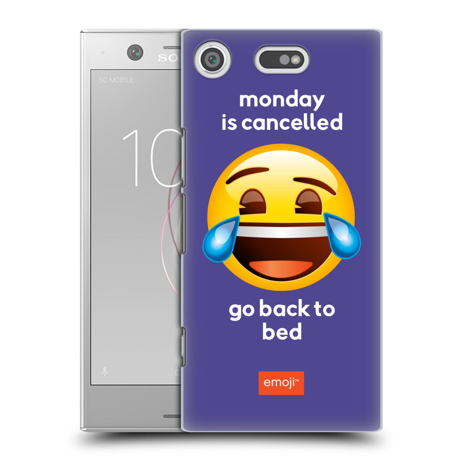 Pouzdro na mobil Sony Xperia XZ1 COMPACT - HEAD CASE - Emoji smějící se smajlík pondělí