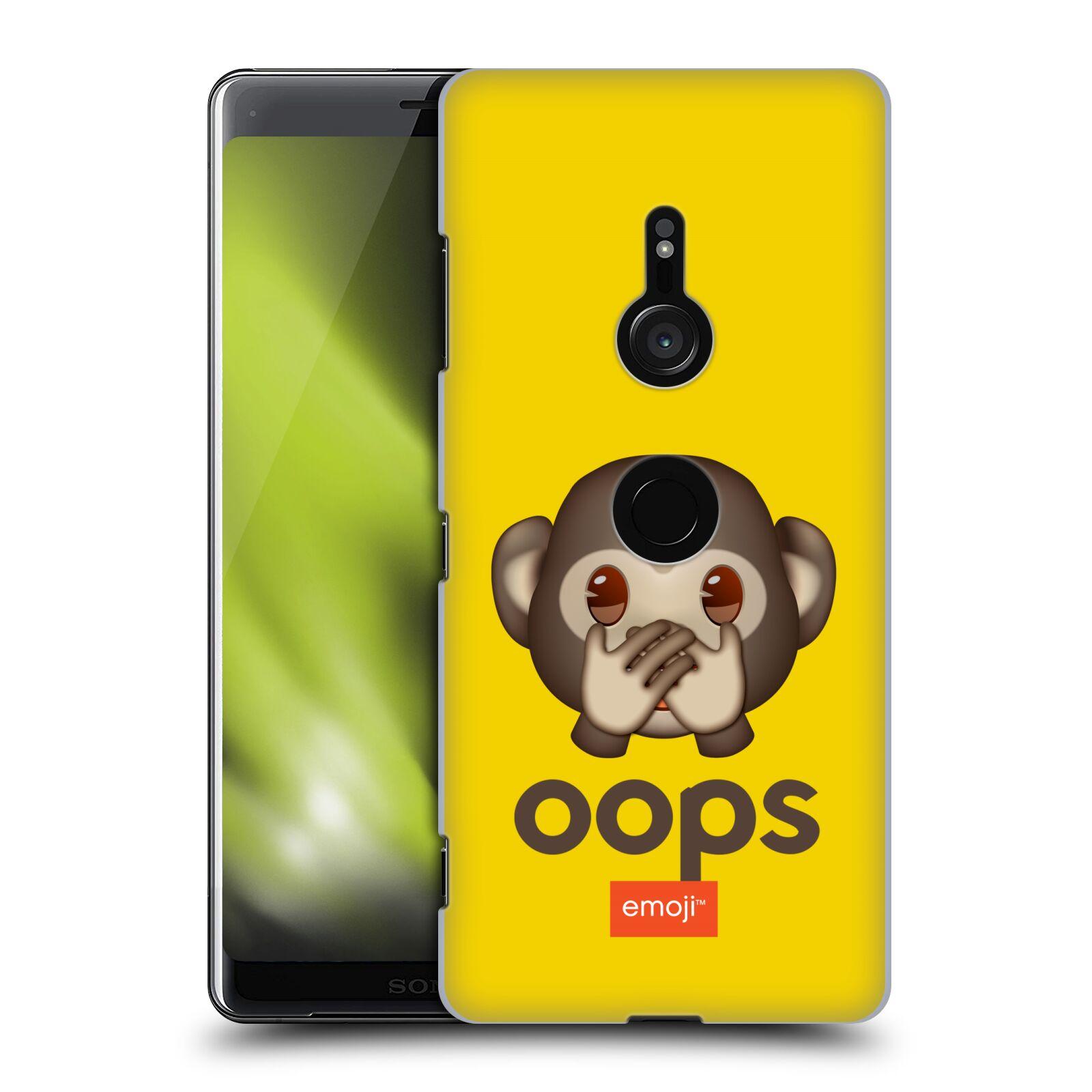 Pouzdro na mobil Sony Xperia XZ3 - HEAD CASE - Emoji opička Oops