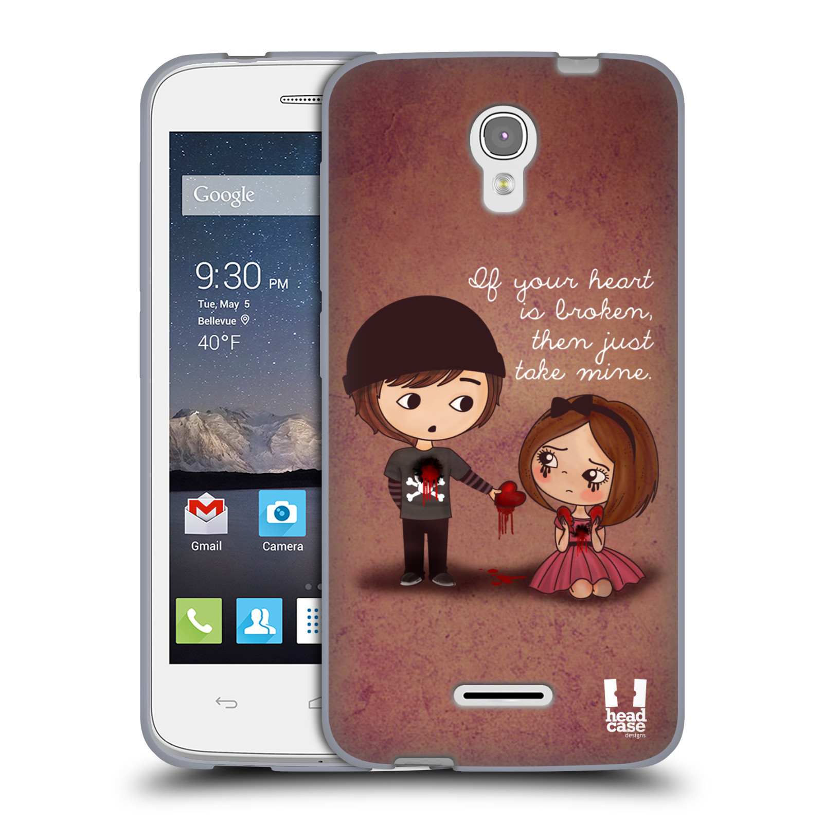 Case Of Squishy Pops : HEAD CASE CUTE EMO LOVE SOFT GEL CASE FOR ALCATEL ONETOUCH POP ASTRO eBay