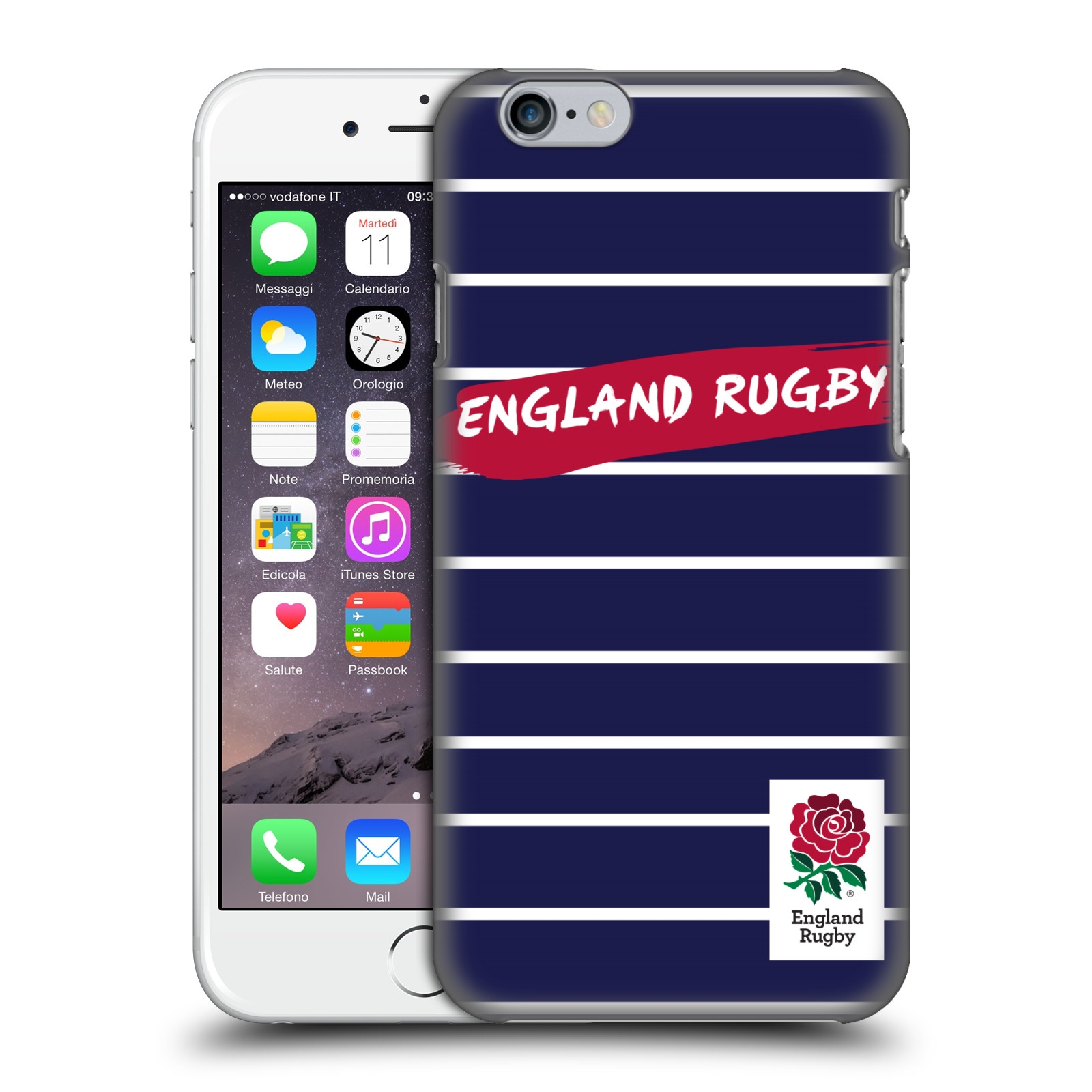 England Rugby Union 2016/17 Patterns-Navy Pinstripes
