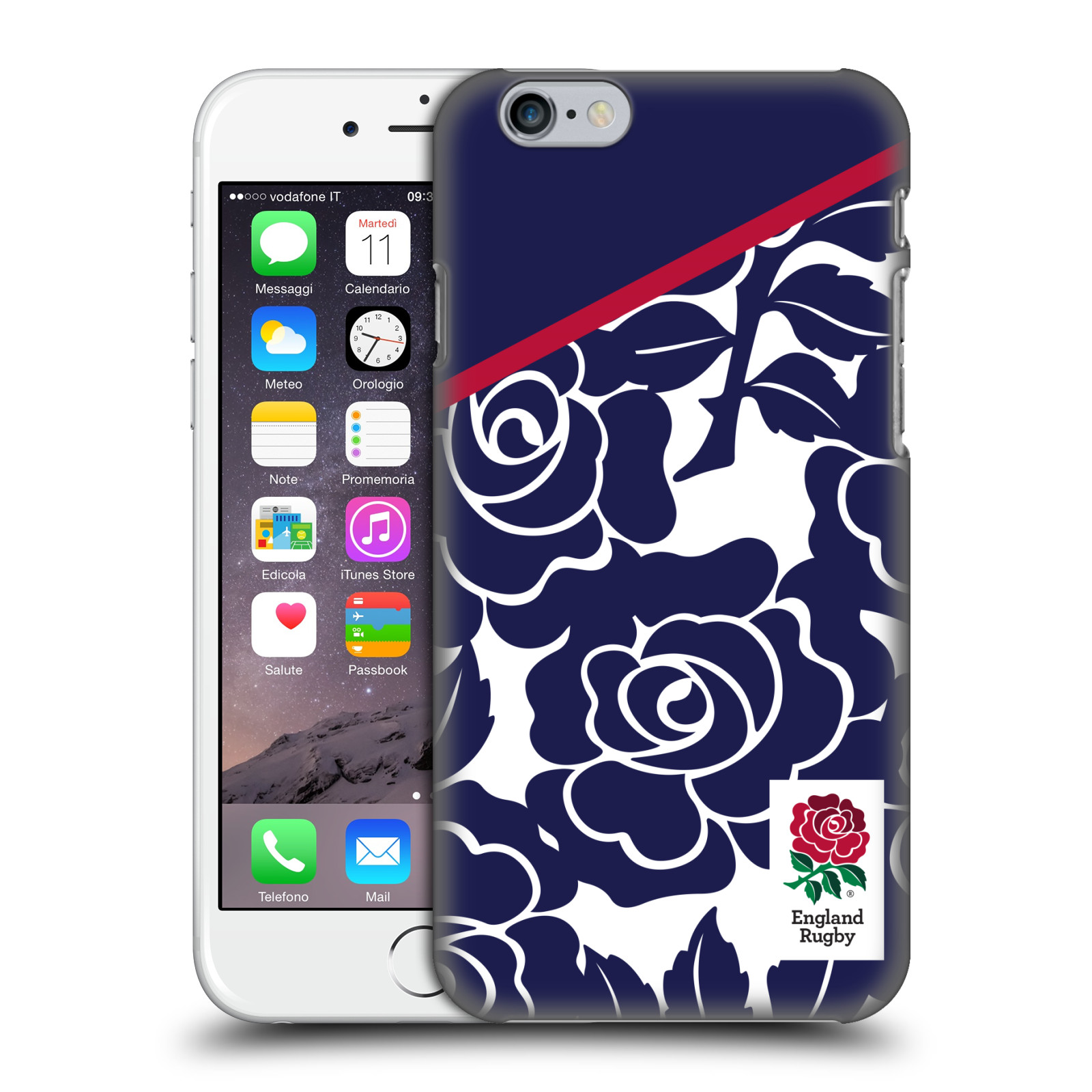 England Rugby Union 2016/17 Patterns-Navy Rose
