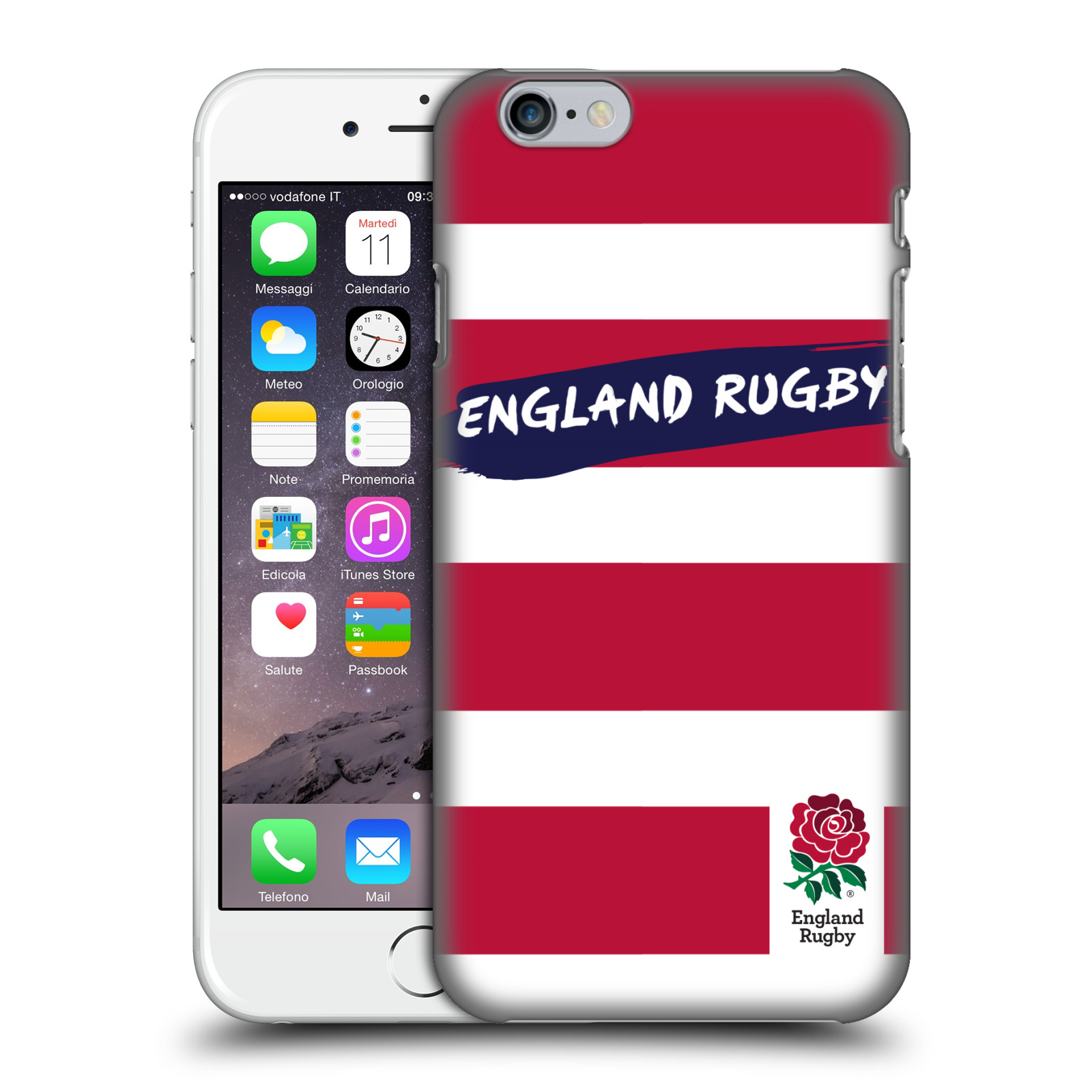 England Rugby Union 2016/17 Patterns-Red Stripes