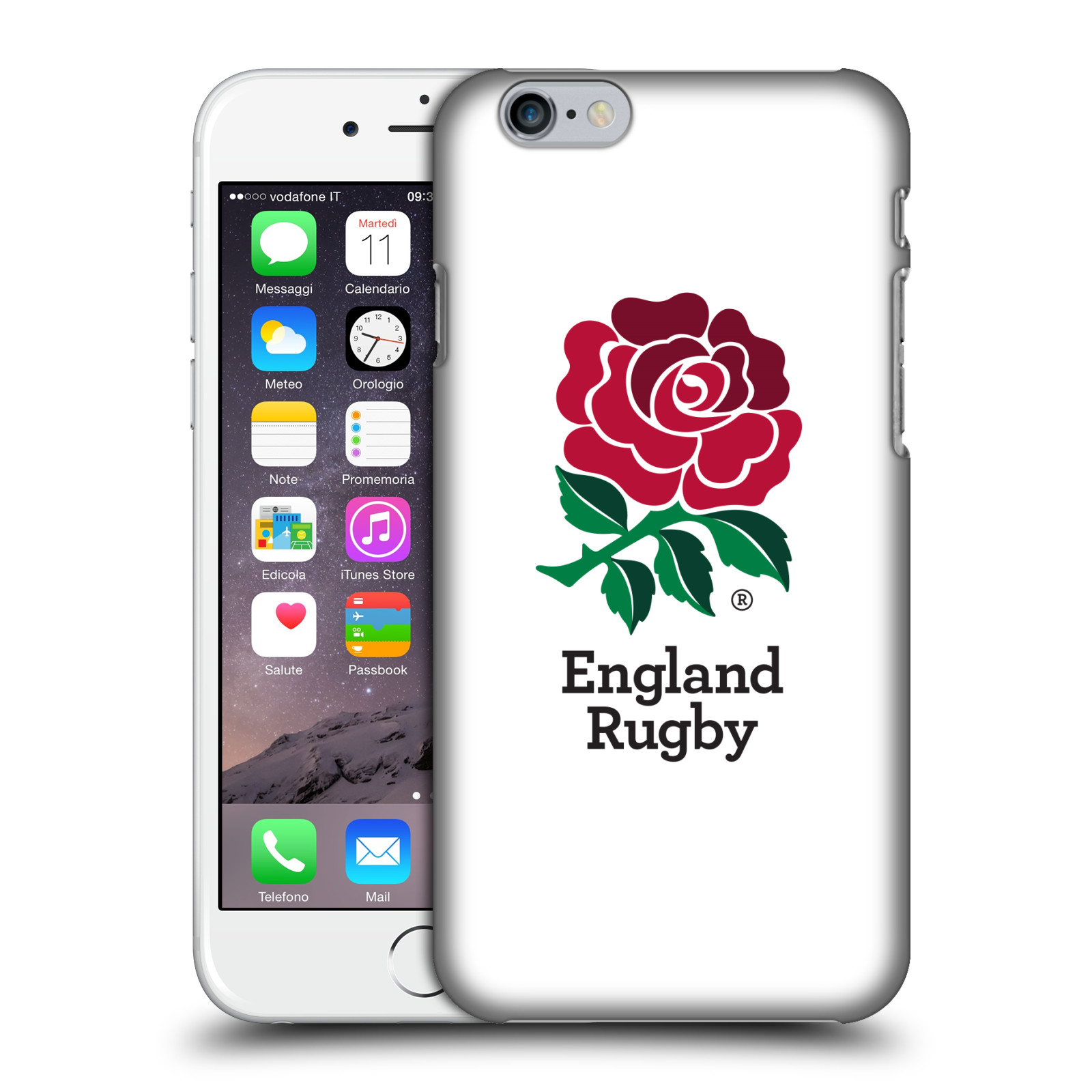 England Rugby Union 2016/17 The Rose-Home Kit
