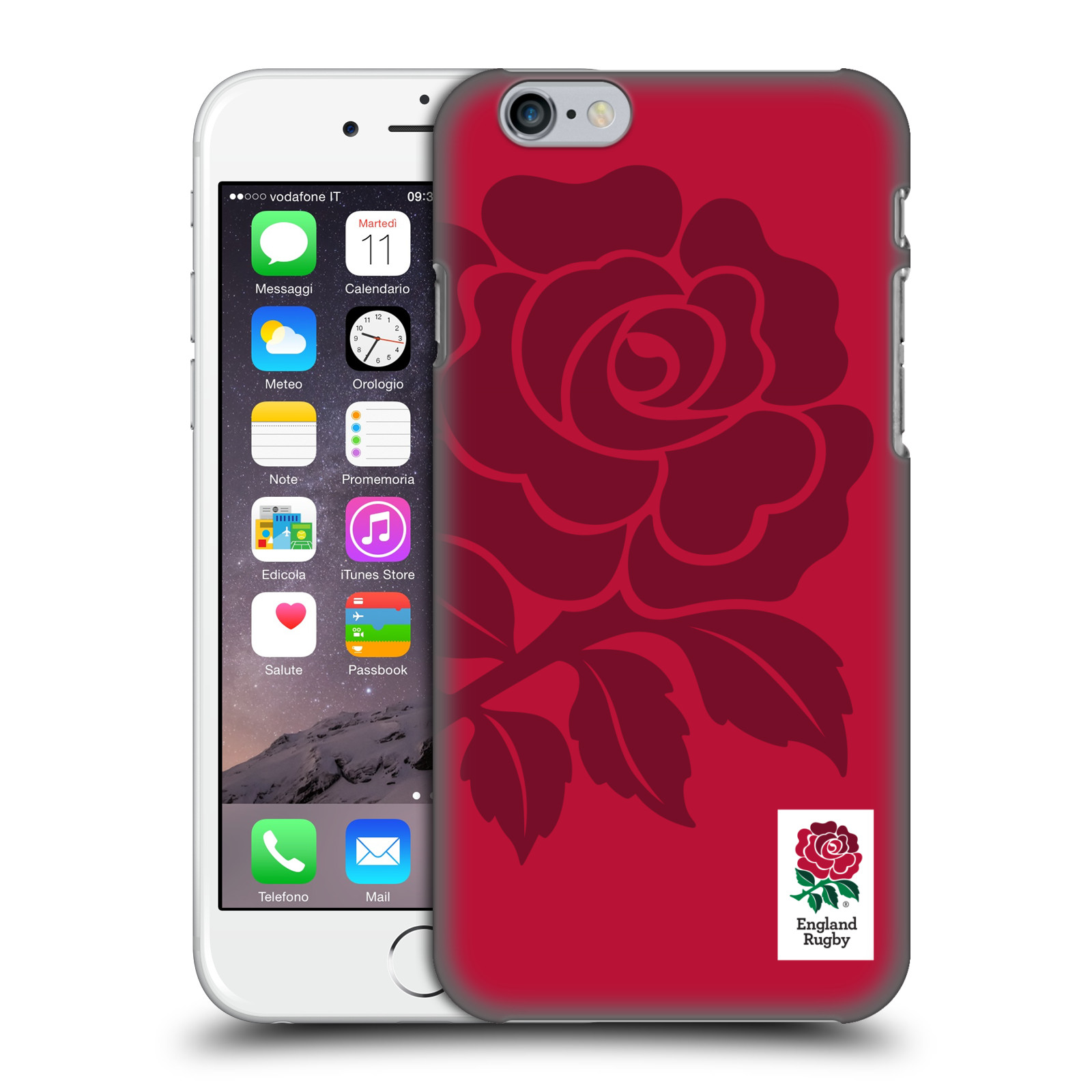 England Rugby Union 2016/17 The Rose-Mono Rose