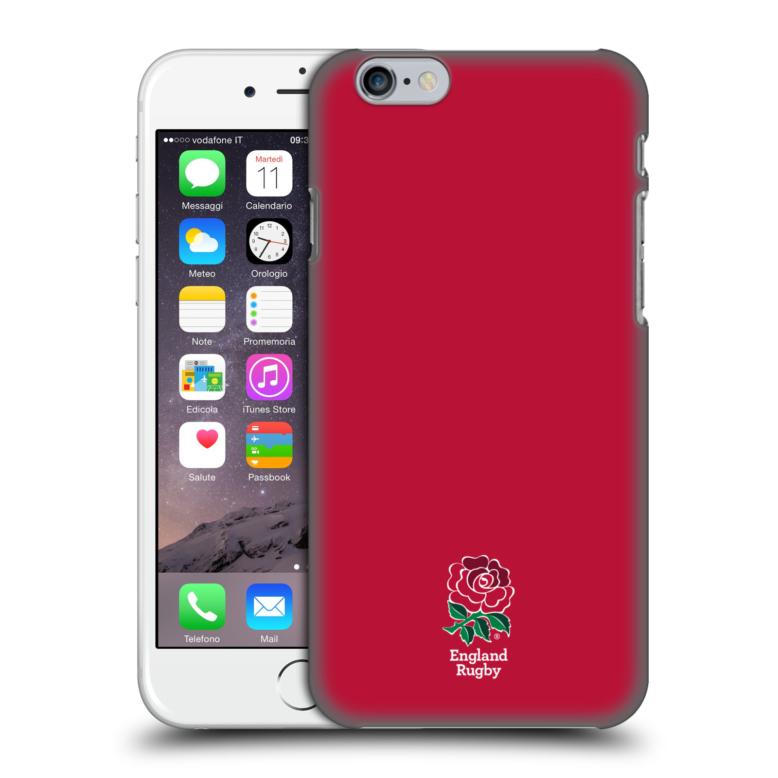 England Rugby Union 2016/17 The Rose-Plain Red