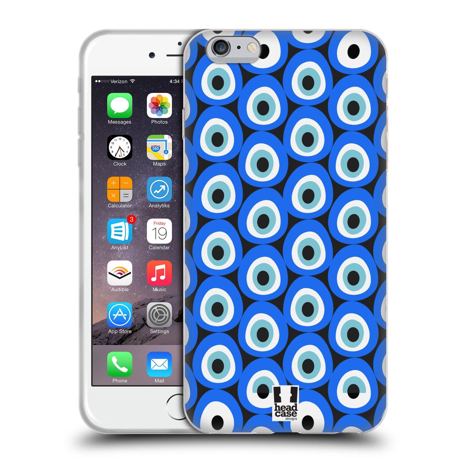 HEAD CASE silikonový obal na mobil Apple Iphone 6 PLUS/ 6S PLUS vzor Paví oko MONO