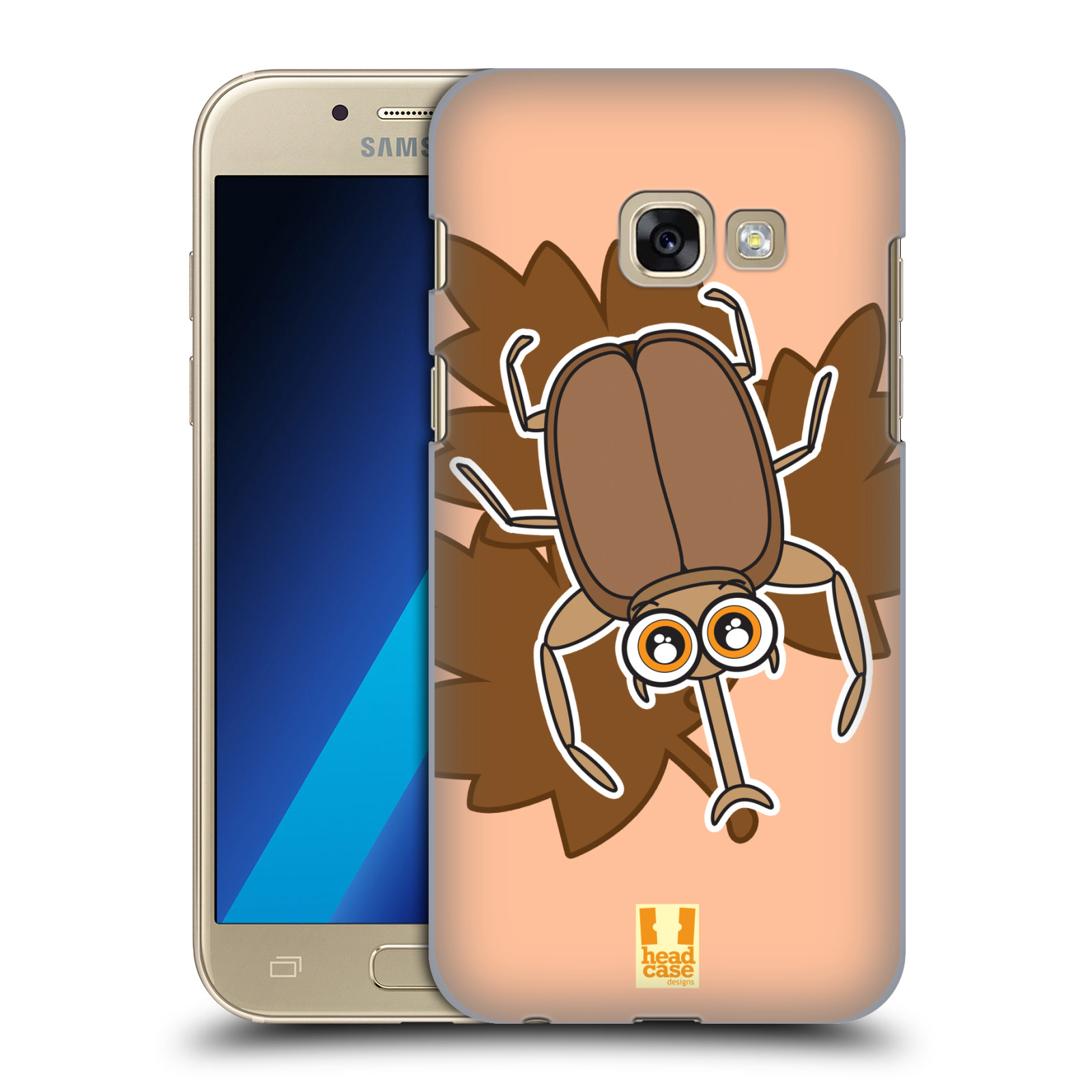 HEAD-CASE-DESIGNS-EYE-BUGS-COVER-RETRO-RIGIDA-PER-SAMSUNG-GALAXY-A3-2017