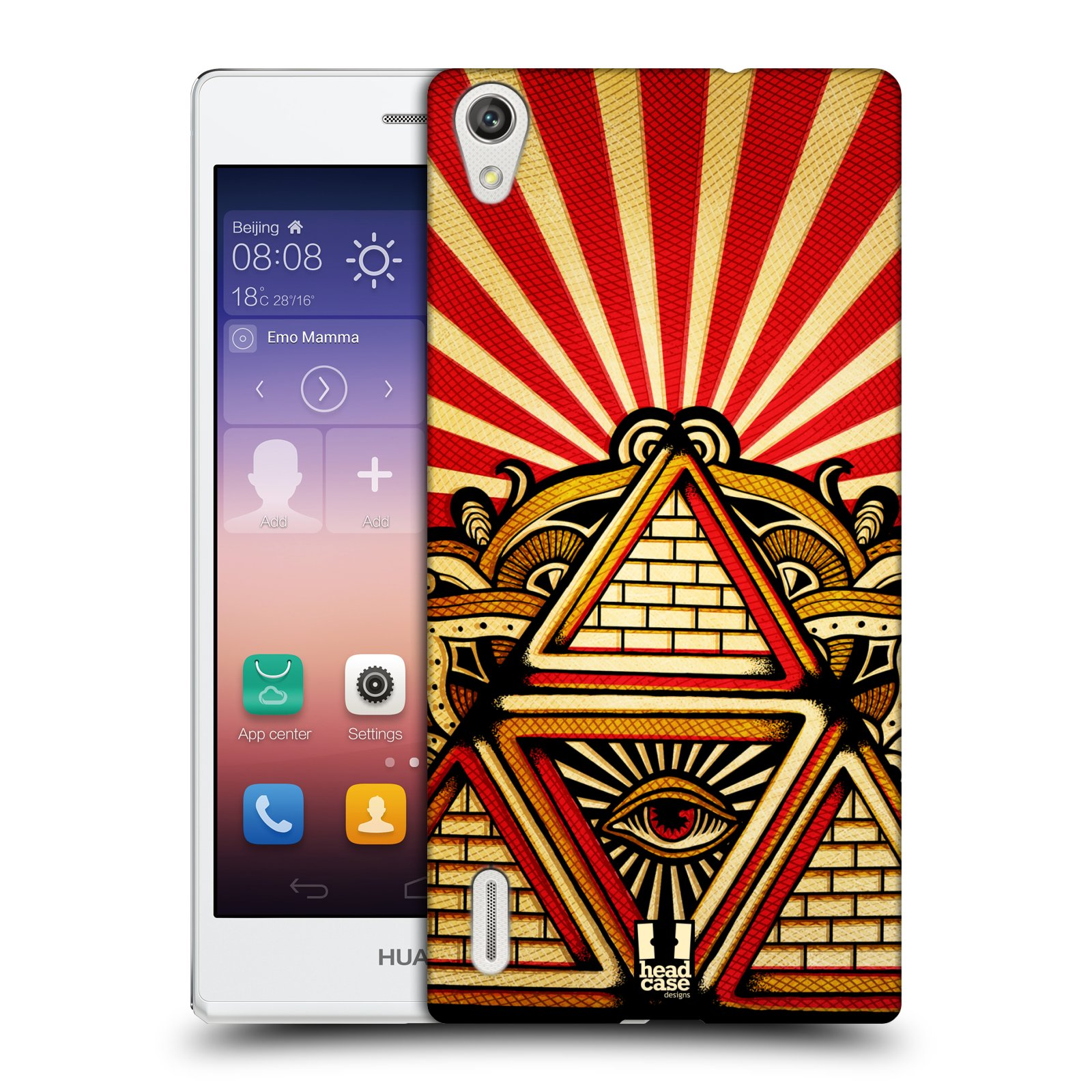 Head Case Designs Providence Case Cover FOR Huawei Ascend ...