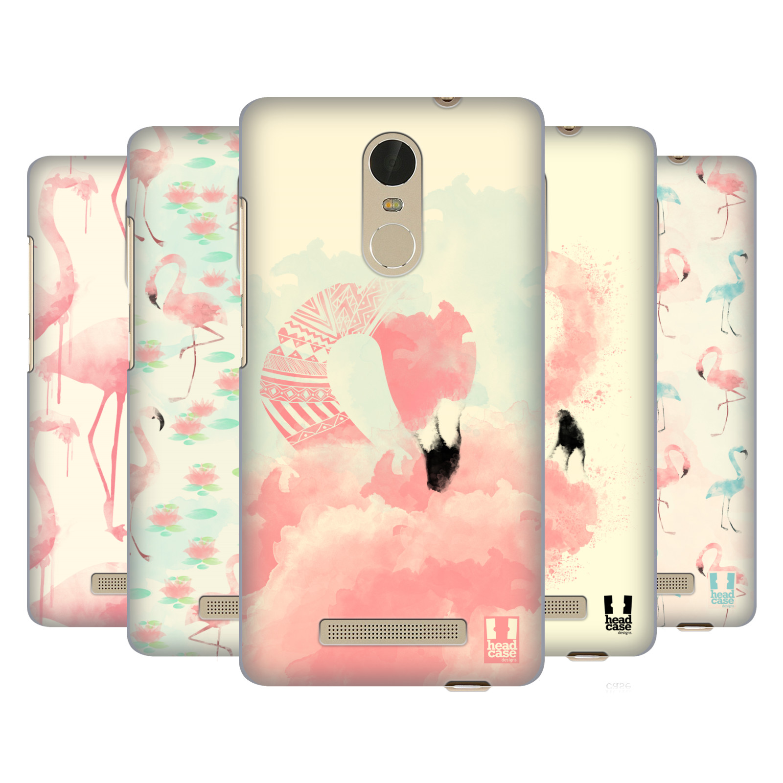 HEAD CASE DESIGNS FAB FLAMINGO HARD BACK CASE FOR XIAOMI PHONES