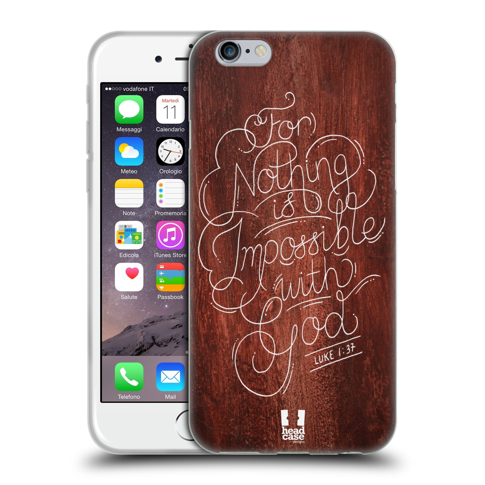 HEAD CASE FAMOUS BIBLE VERSE GEL BACK CASE COVER FOR APPLE iPHONE 6 4.7